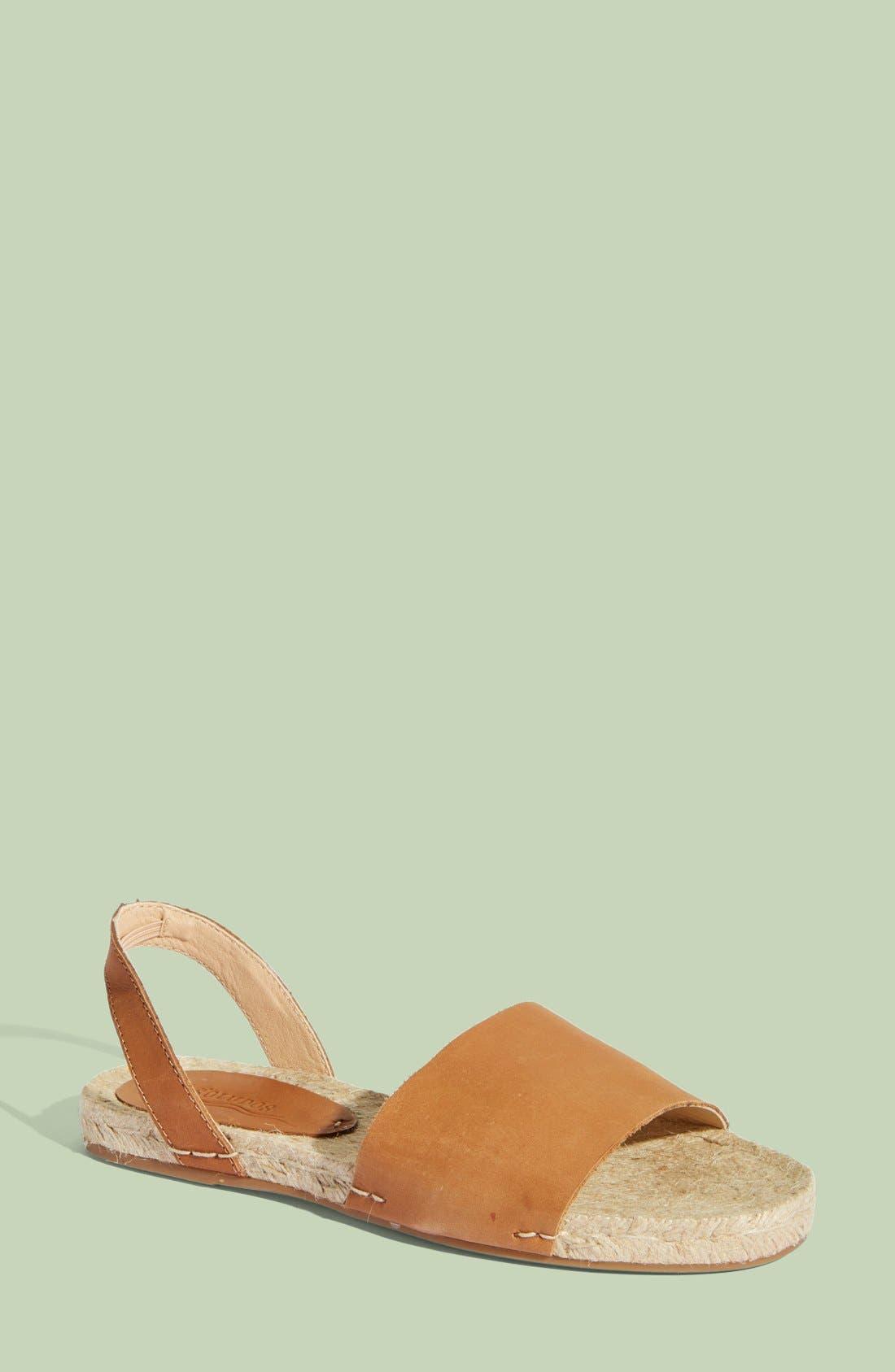 SOLUDOS, Slingback Sandal, Main thumbnail 1, color, 211