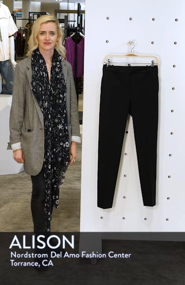 Stretch Twill Slim Ankle Pants, sales video thumbnail