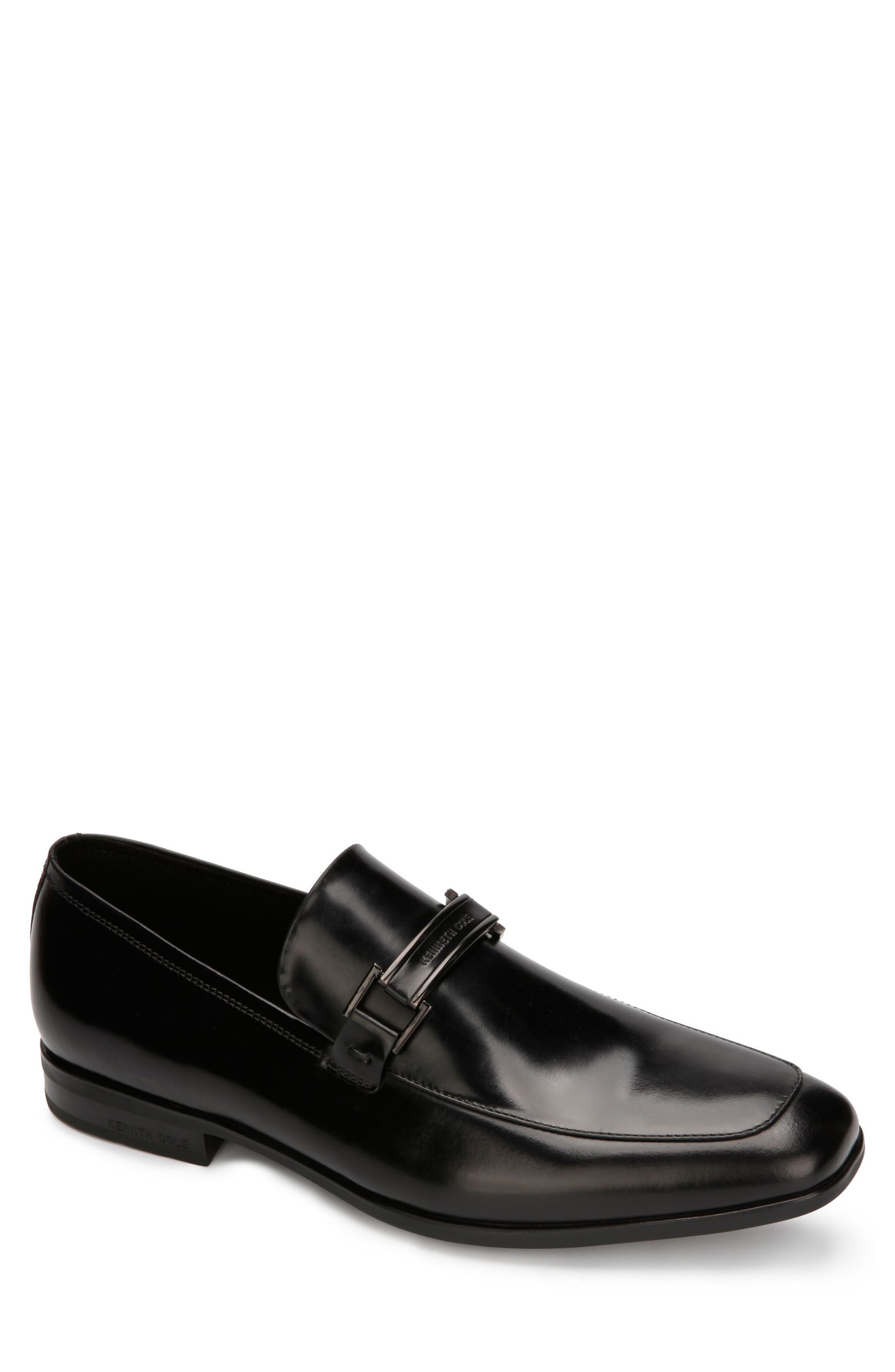 KENNETH COLE NEW YORK, Aaron Toe Loafer, Main thumbnail 1, color, 001
