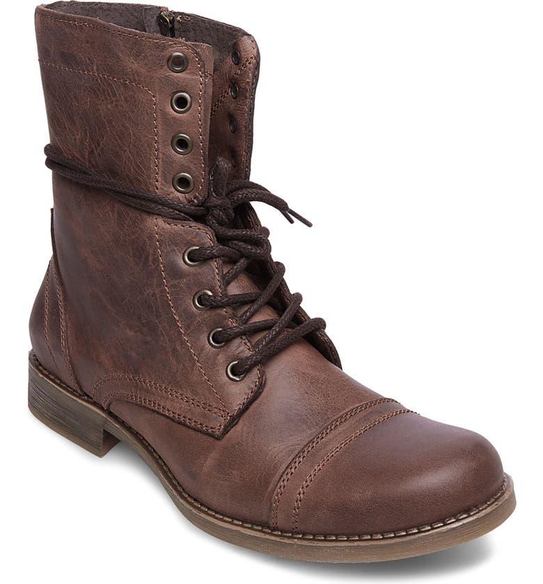 60093e08581 Steve Madden Troopah-C Cap Toe Boot (Men)