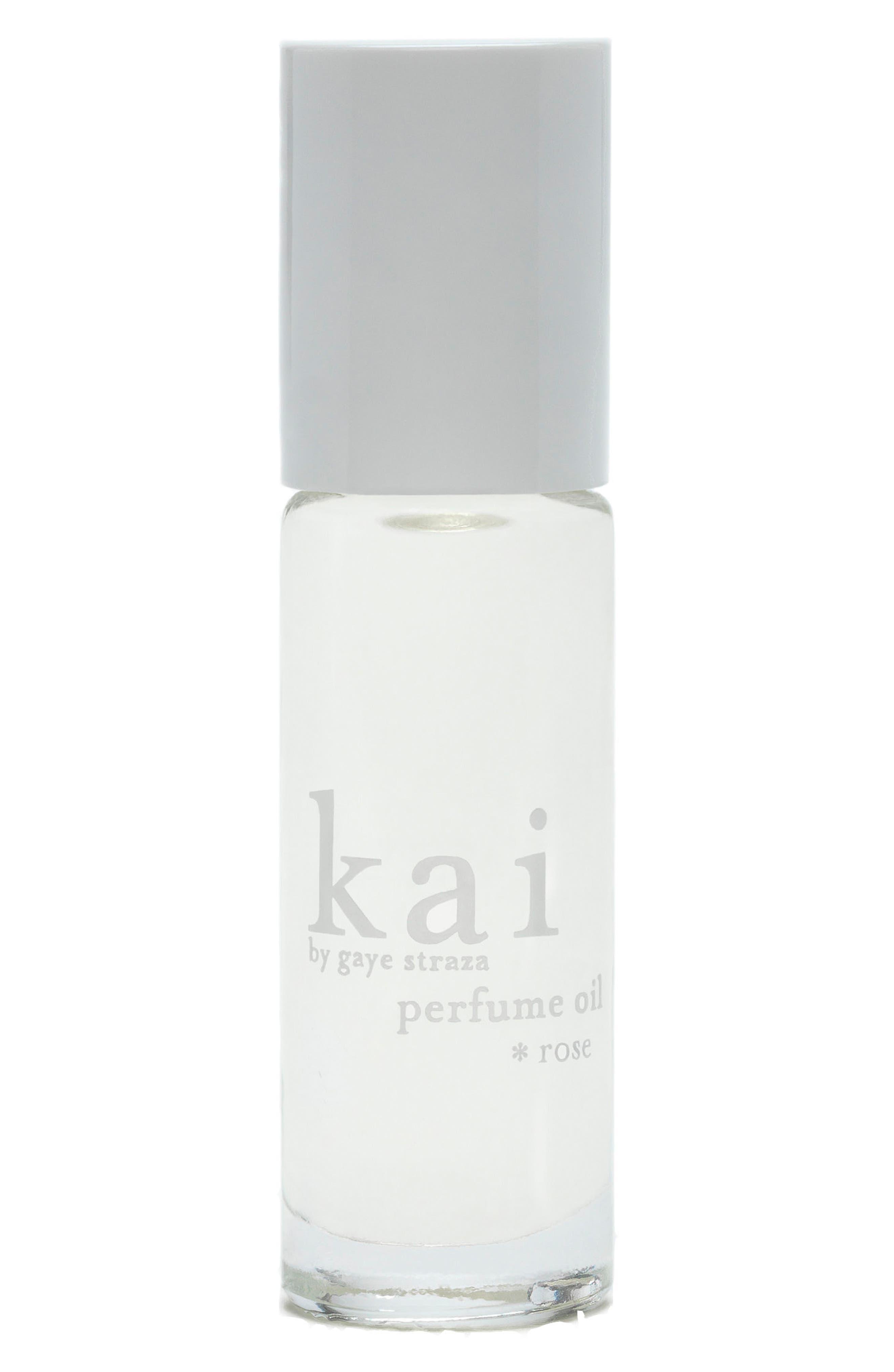 KAI Rose Perfume Oil, Main, color, NO COLOR