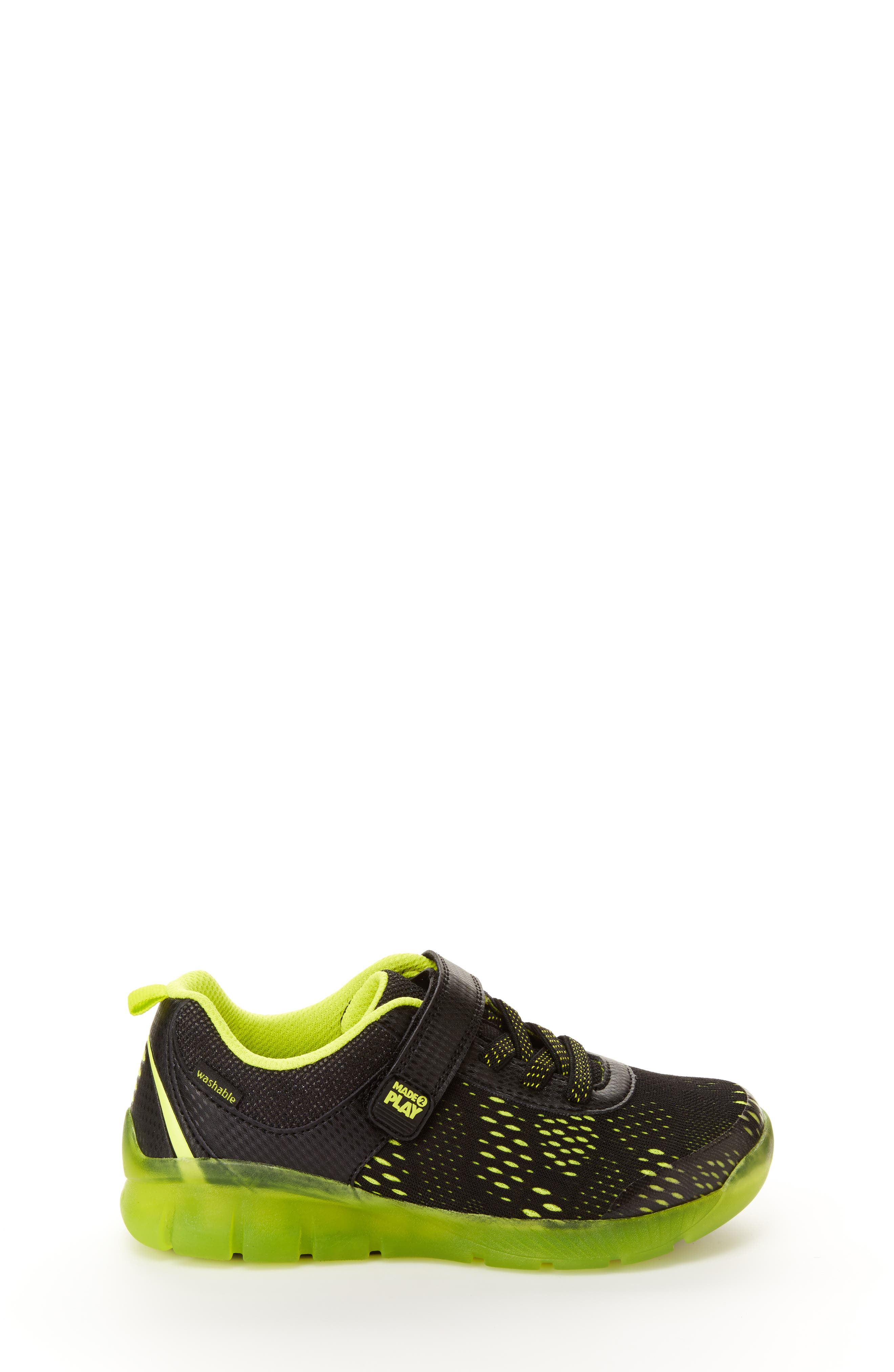 STRIDE RITE, Made2Play<sup>®</sup> Neo Light-Up Sneaker, Alternate thumbnail 2, color, 002