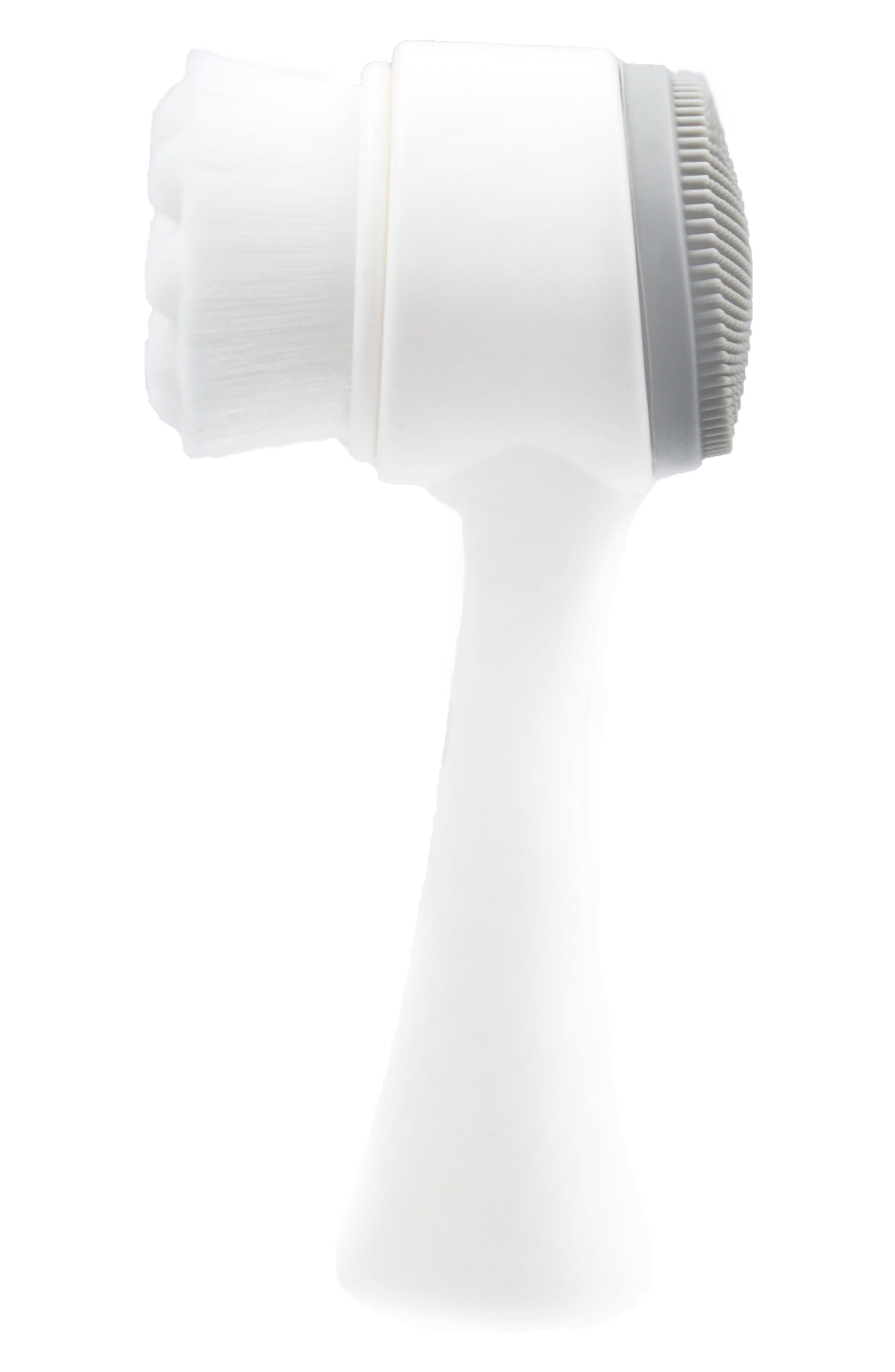 RAFFAELE RUBERTO<SUP>®</SUP> SKIN Raffaele Ruberto<sup>®</sup> Dual-Head Pro Cleansing Brush, Main, color, NO COLOR
