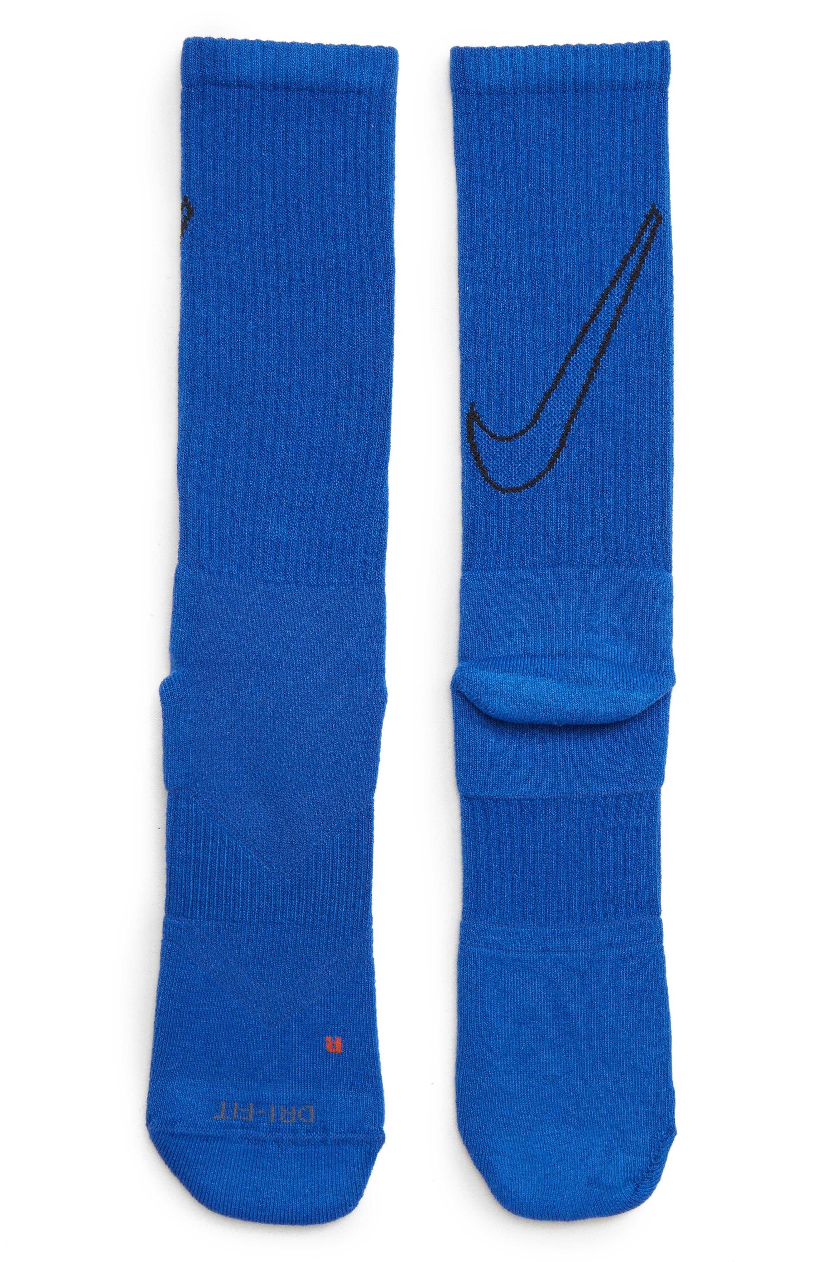 NIKE, Everyday Max Cushion 3-Pack Crew Socks, Alternate thumbnail 2, color, 100