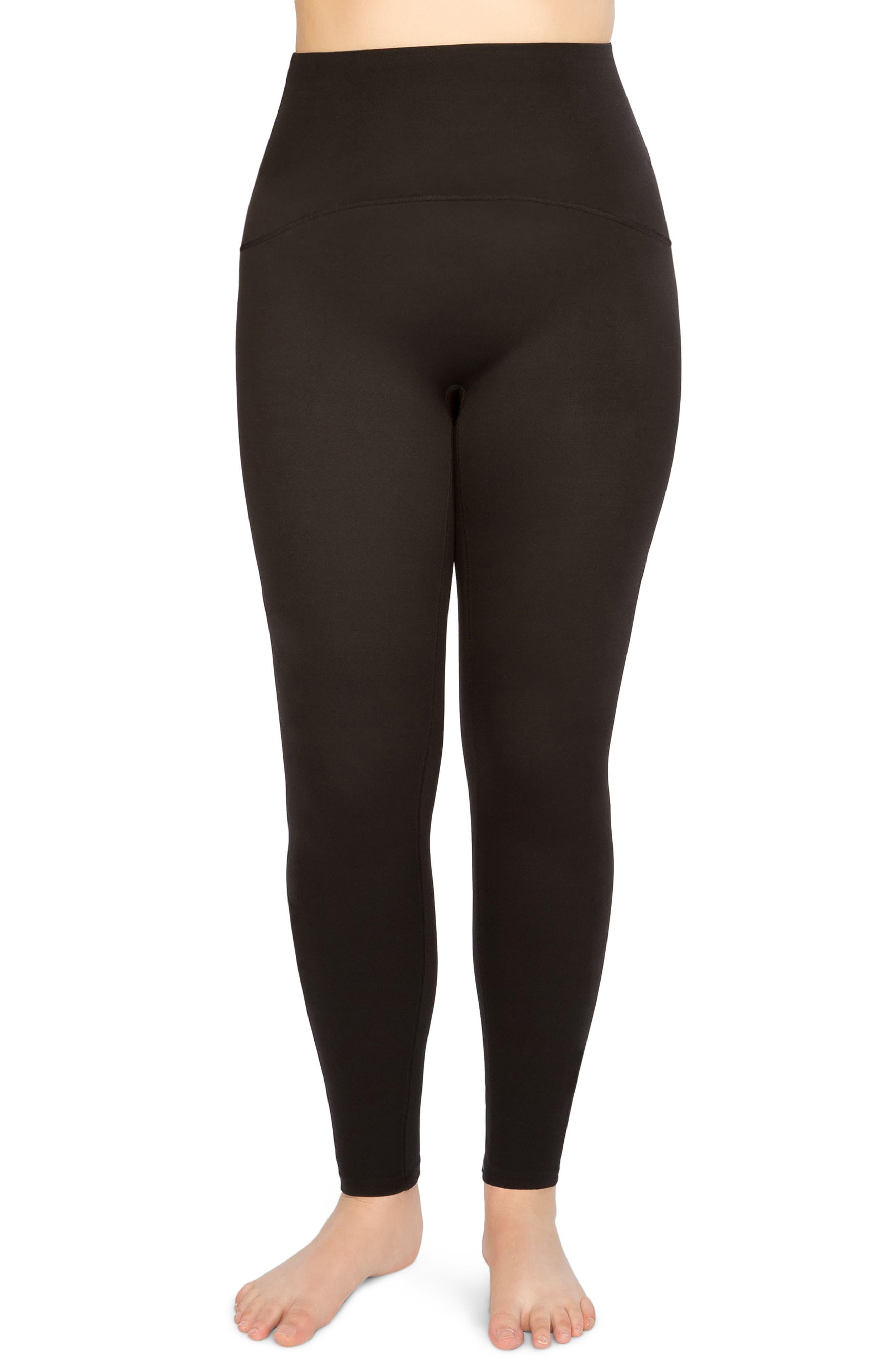 SPANX<SUP>®</SUP> Active Leggings, Main, color, BLACK