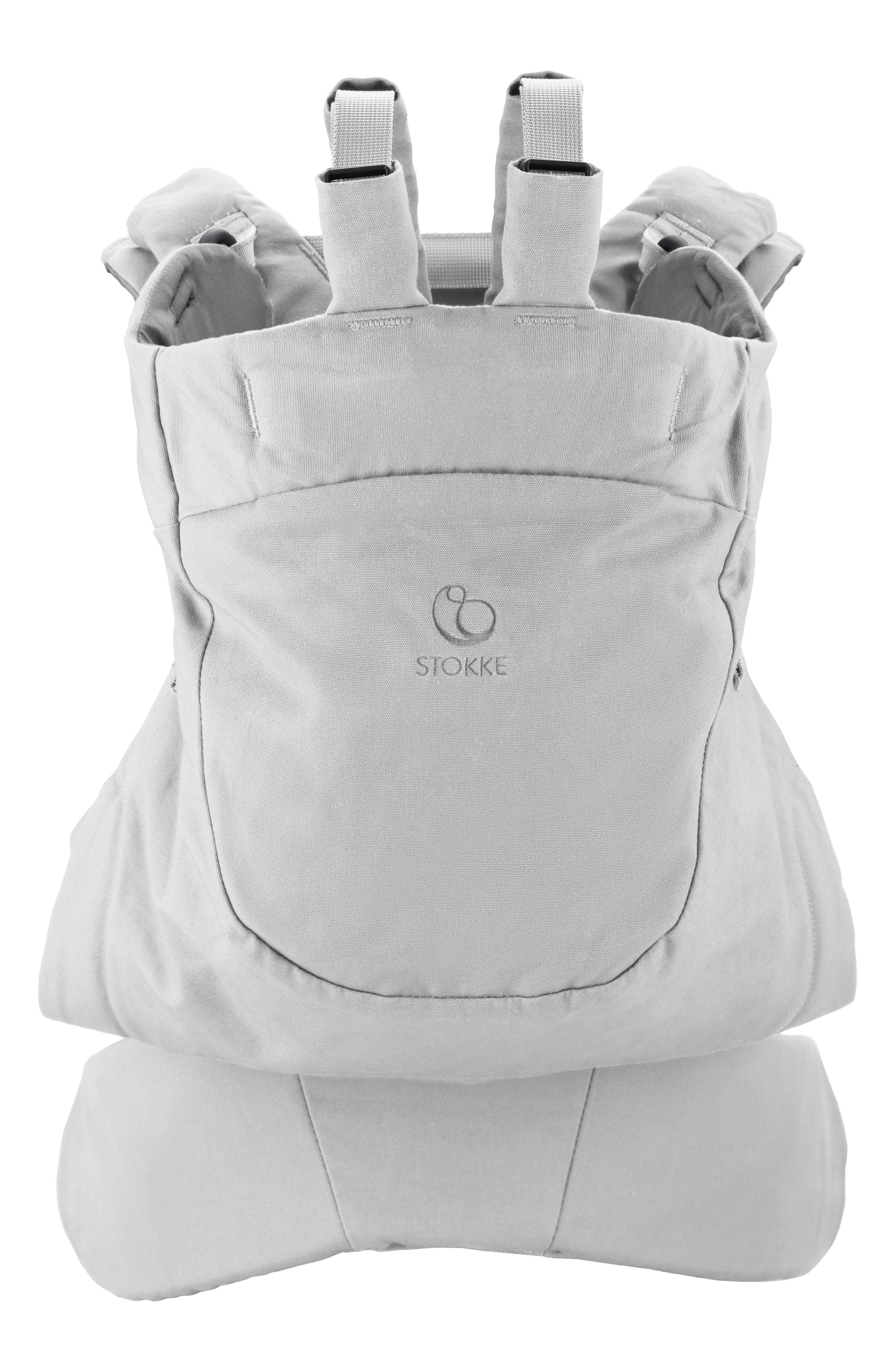 STOKKE, MyCarrier Front/Back Baby Carrier, Main thumbnail 1, color, GREY