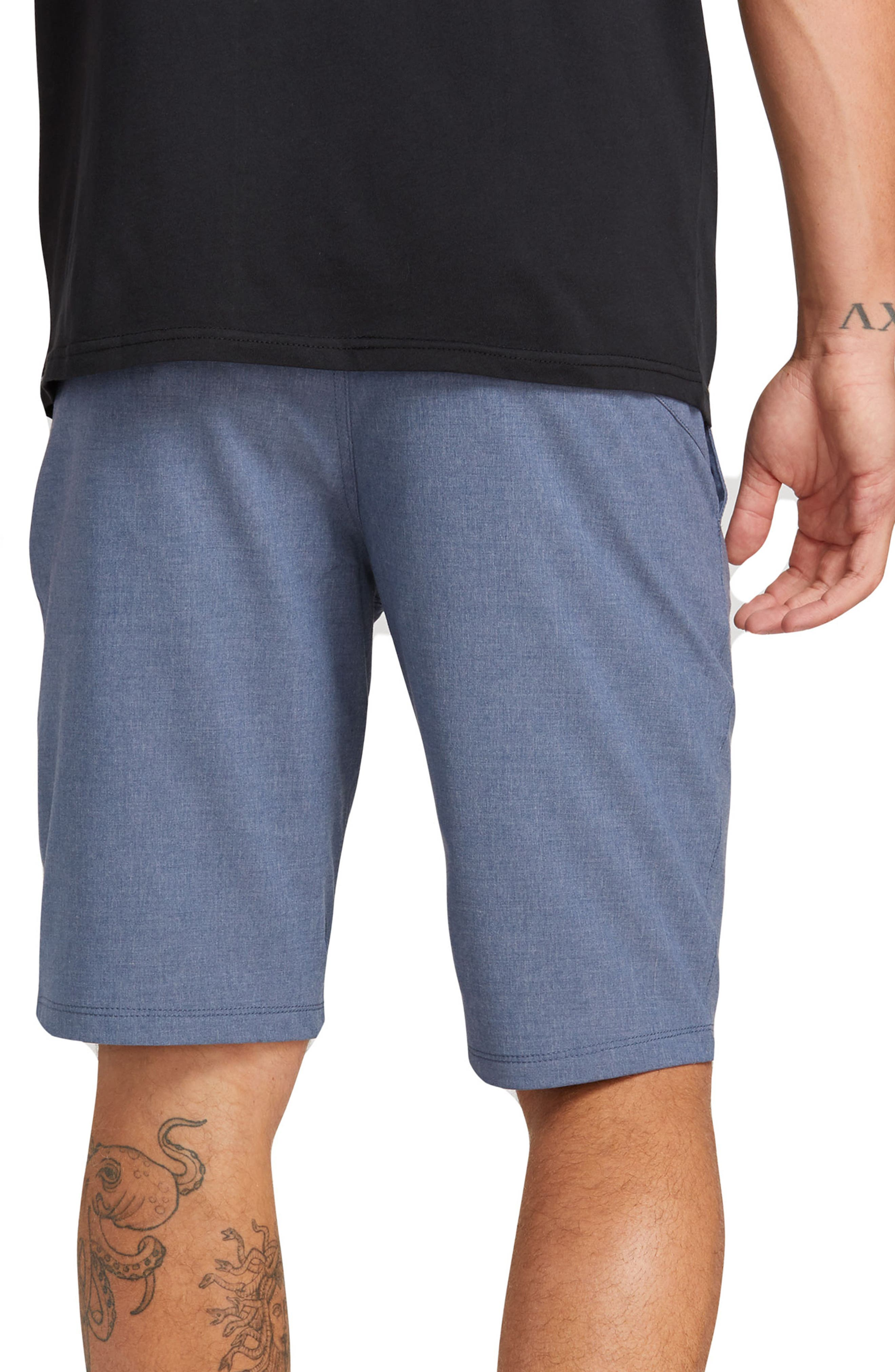 VOLCOM, Hybrid Shorts, Alternate thumbnail 2, color, DEEP BLUE