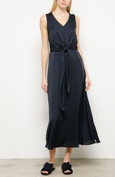 Ambrosia Tie Waist Midi Dress, video thumbnail