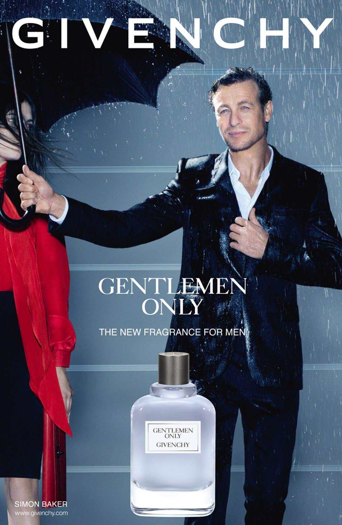 GIVENCHY, 'Gentlemen Only' Eau de Toilette, Alternate thumbnail 2, color, NO COLOR