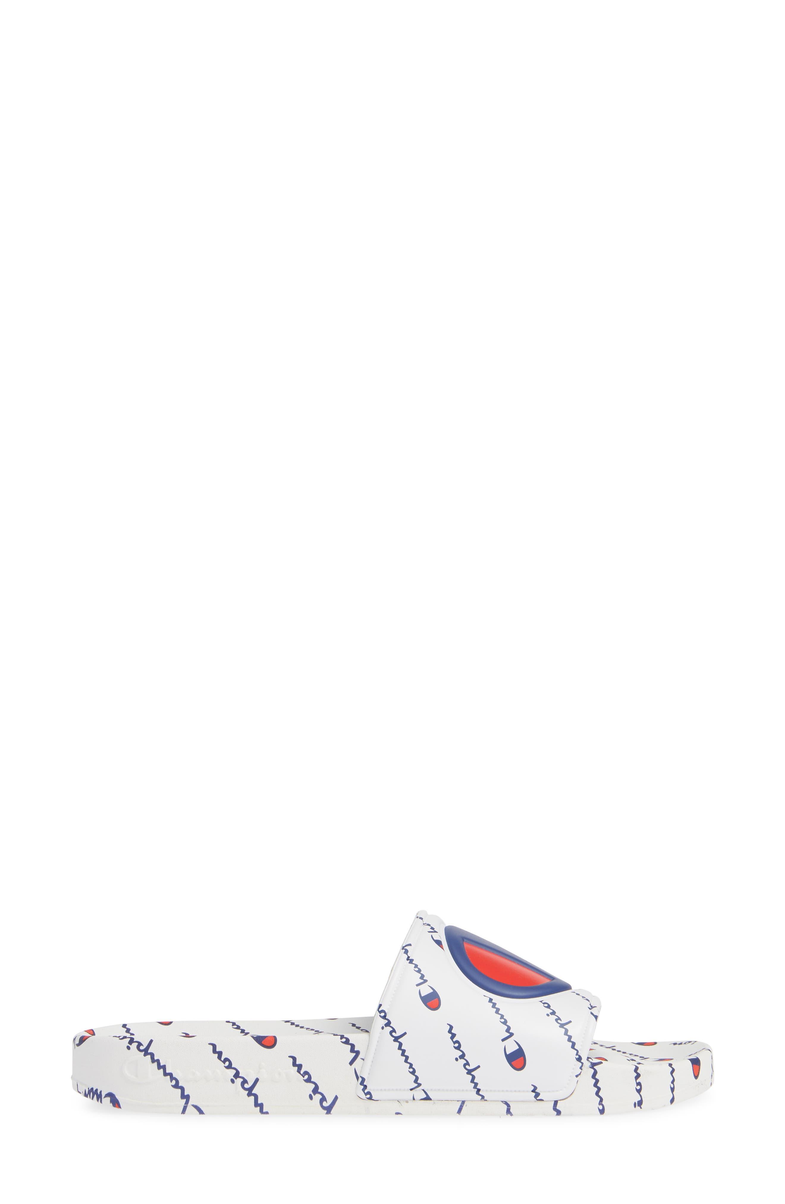 CHAMPION, IPO Repeat Sport Slide Sandal, Alternate thumbnail 3, color, 100