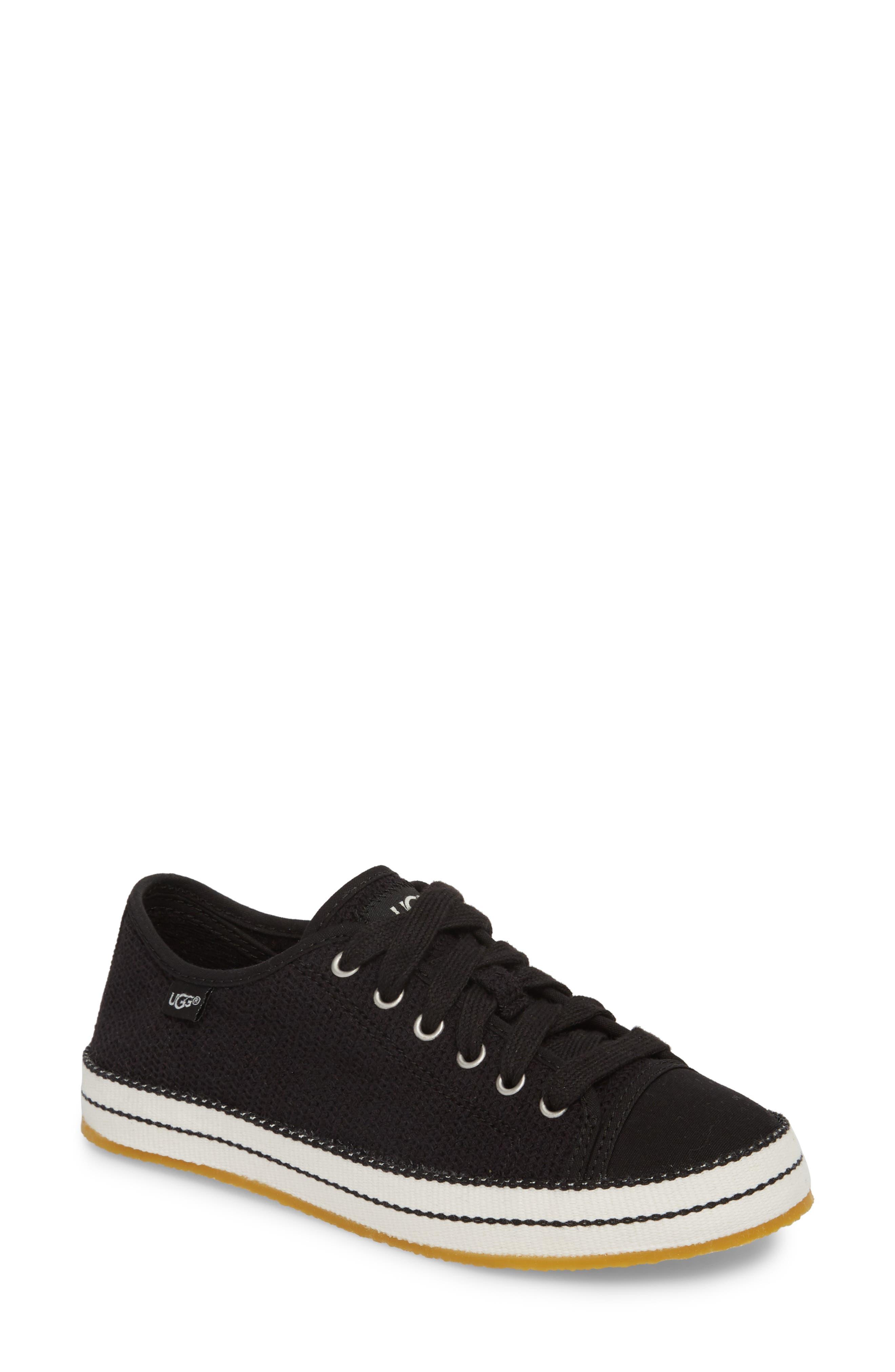 UGG<SUP>®</SUP>, Claudi Sneaker, Main thumbnail 1, color, BLACK