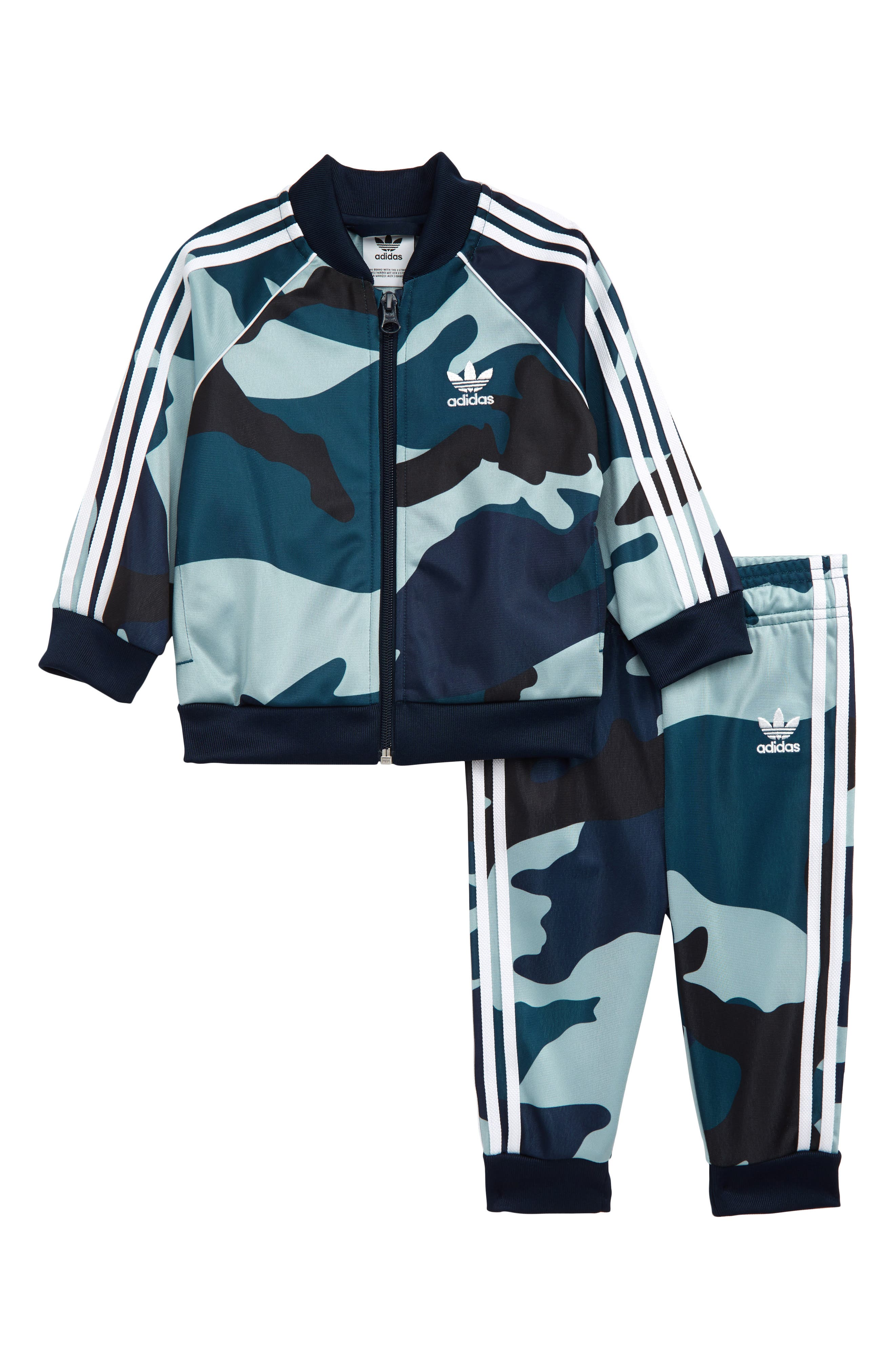 Toddler Boys Adidas Originals Camo Track Jacket  Pants Set (Baby  Toddler Boys)