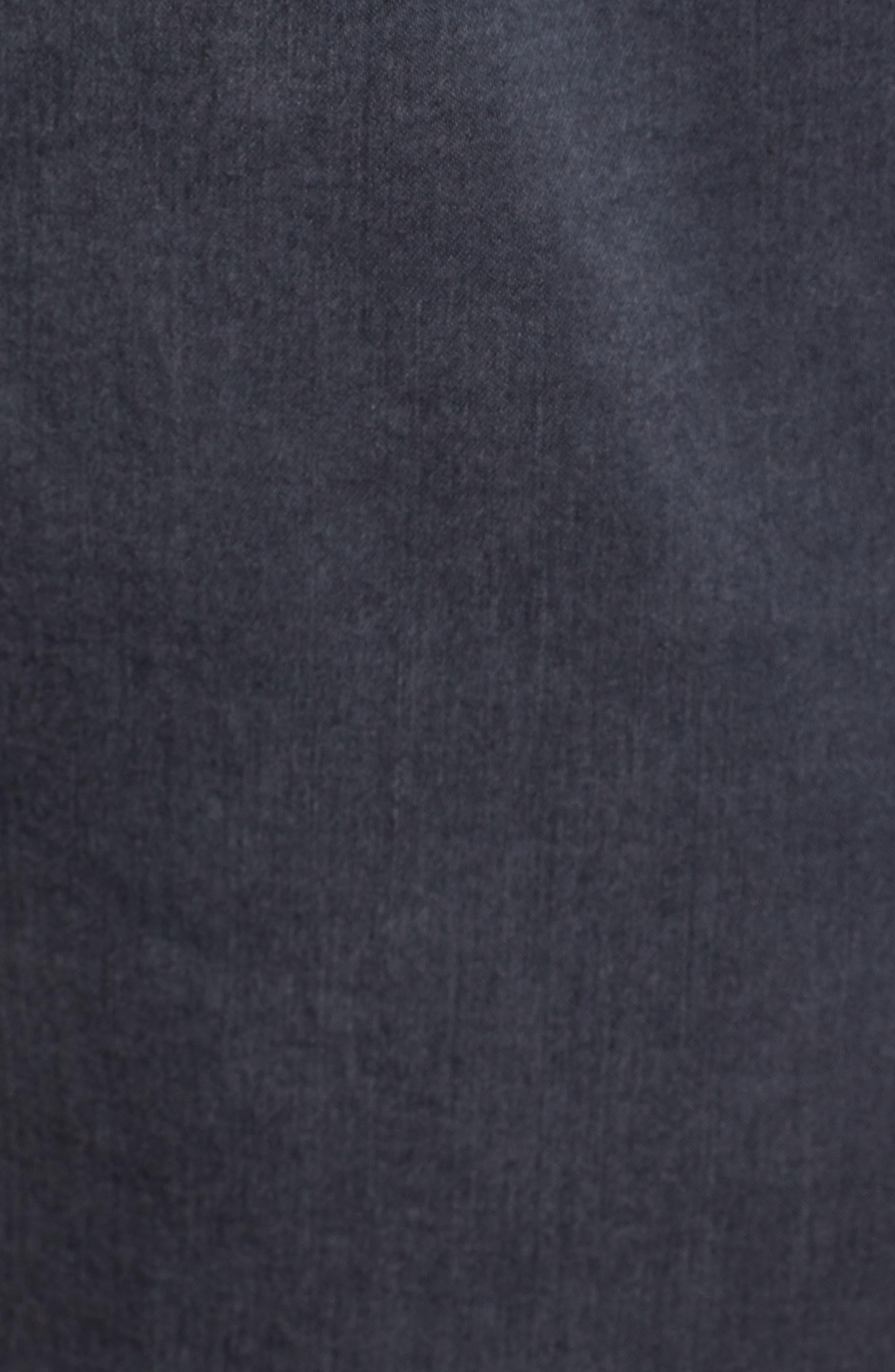 CASLON<SUP>®</SUP>, Sandwashed Pull-On Pants, Alternate thumbnail 5, color, GREY EBONY
