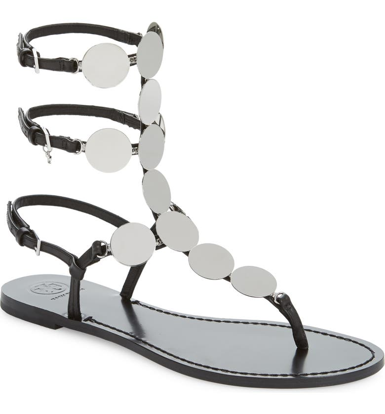 793899253062 Tory Burch Patos Disk Gladiator Sandal (Women)