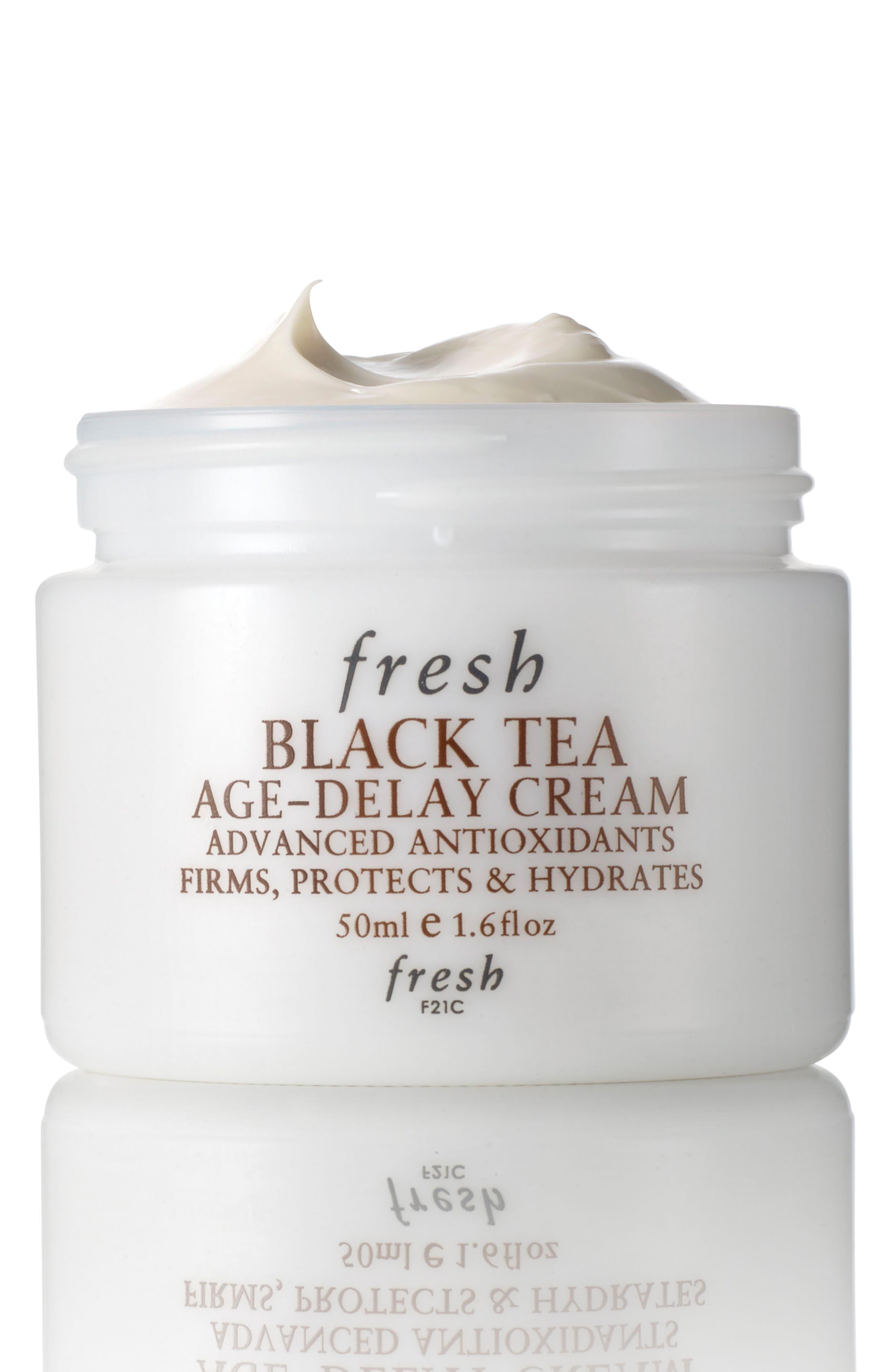 FRESH<SUP>®</SUP>, Black Tea Age-Delay Cream, Main thumbnail 1, color, NO COLOR