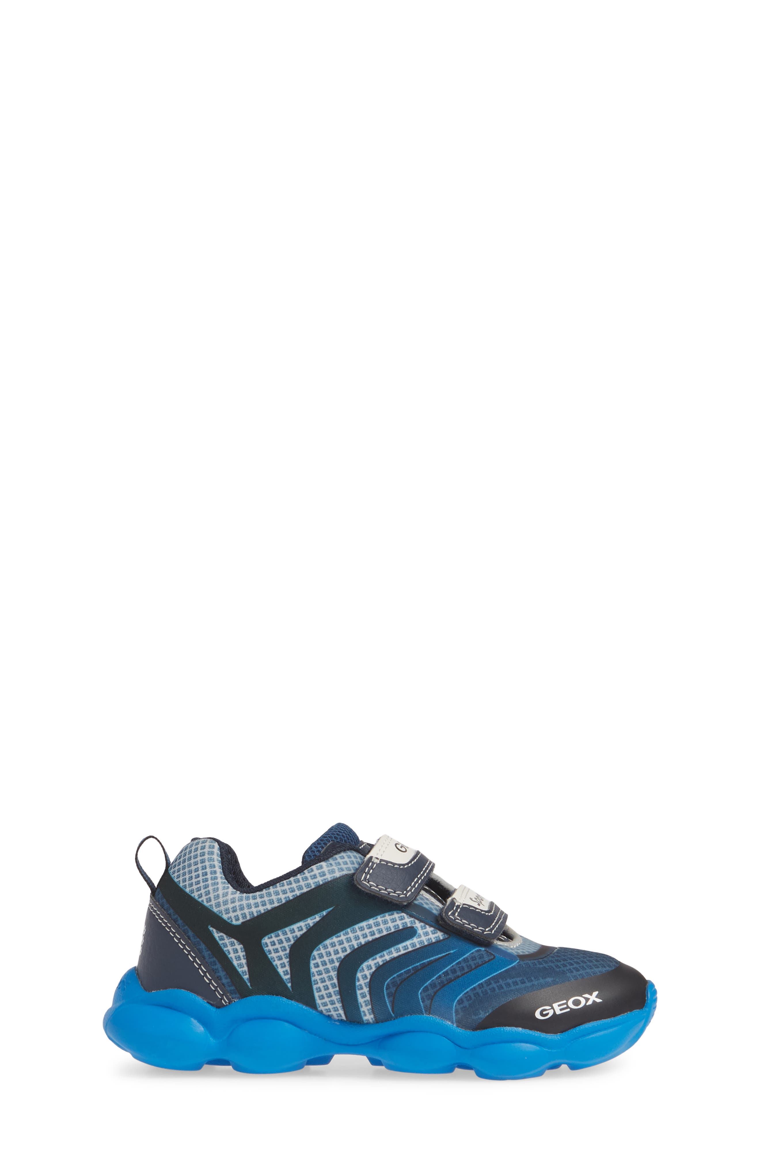 GEOX, J Munfrey Sneaker, Alternate thumbnail 3, color, NAVY/ AVIO