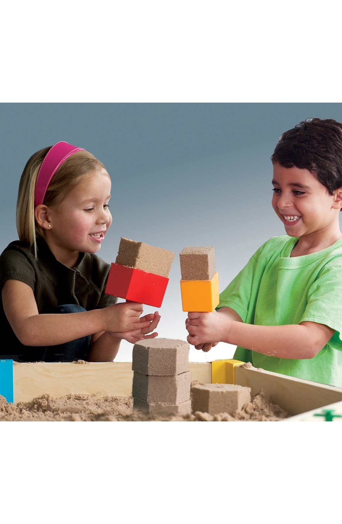 MELISSA & DOUG, 'SandBlox' Sand Box Set, Alternate thumbnail 2, color, MULTI