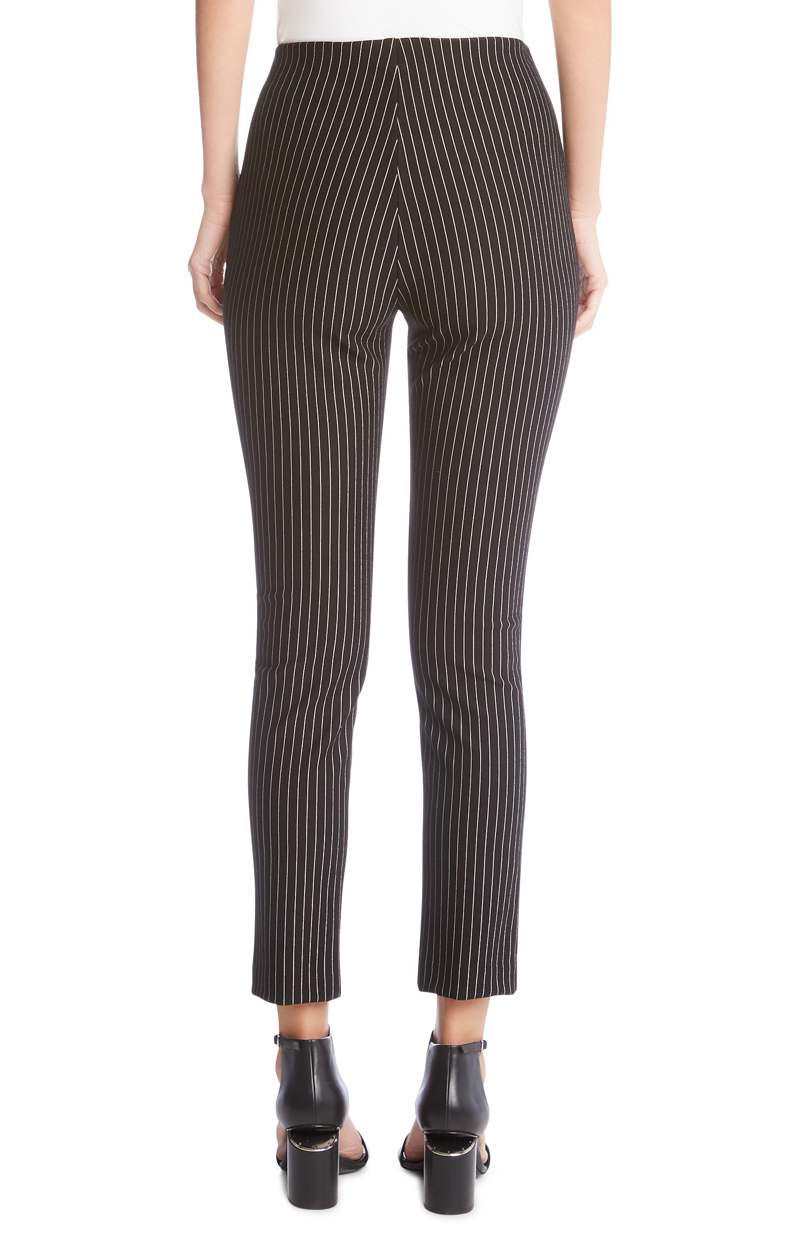 KAREN KANE, Piper Stripe Ankle Skinny Pants, Alternate thumbnail 2, color, 011