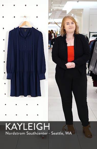 Pintuck Detail Shift Dress, sales video thumbnail