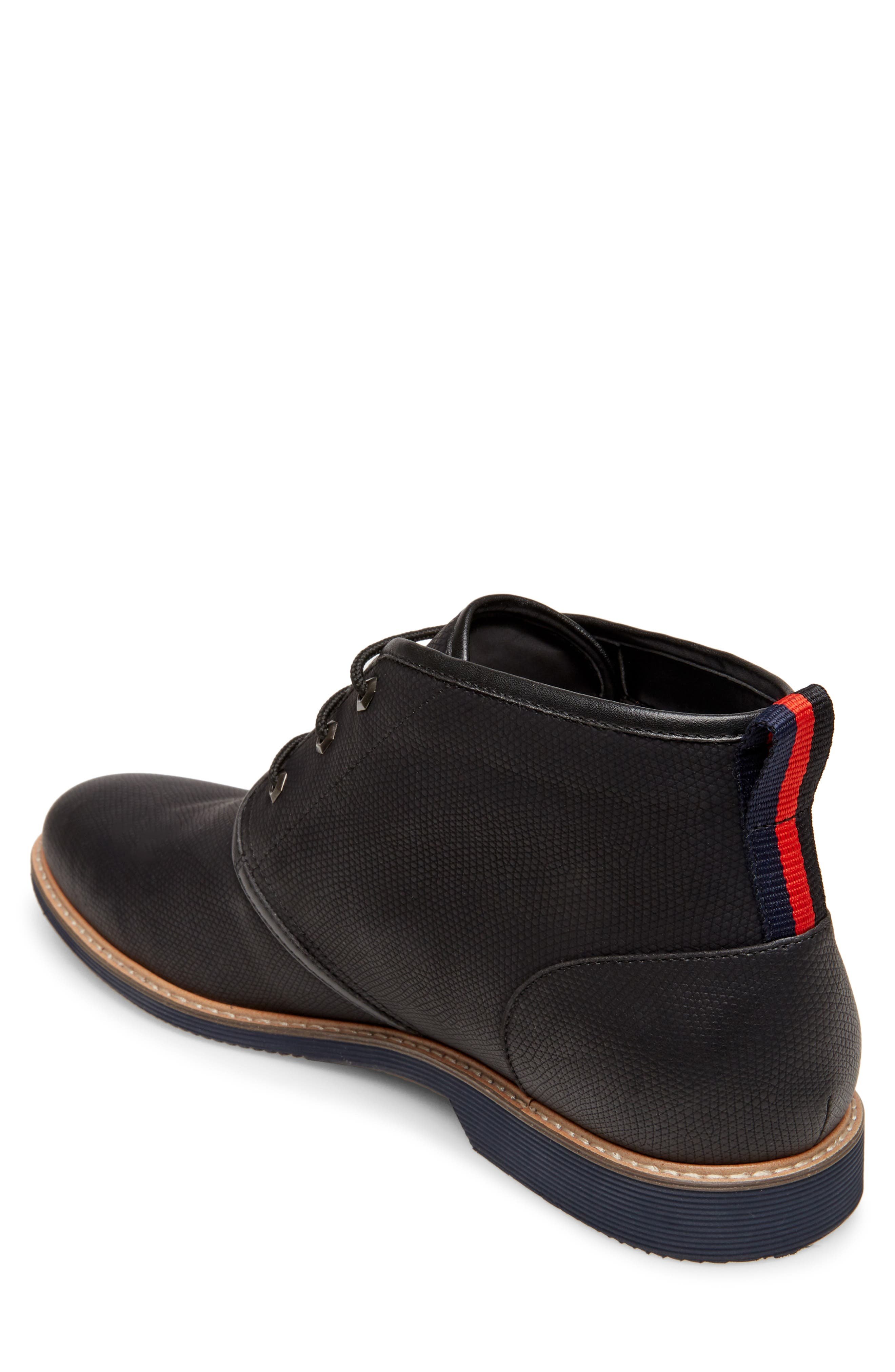 STEVE MADDEN, Nurture Plain Toe Boot, Alternate thumbnail 2, color, 002