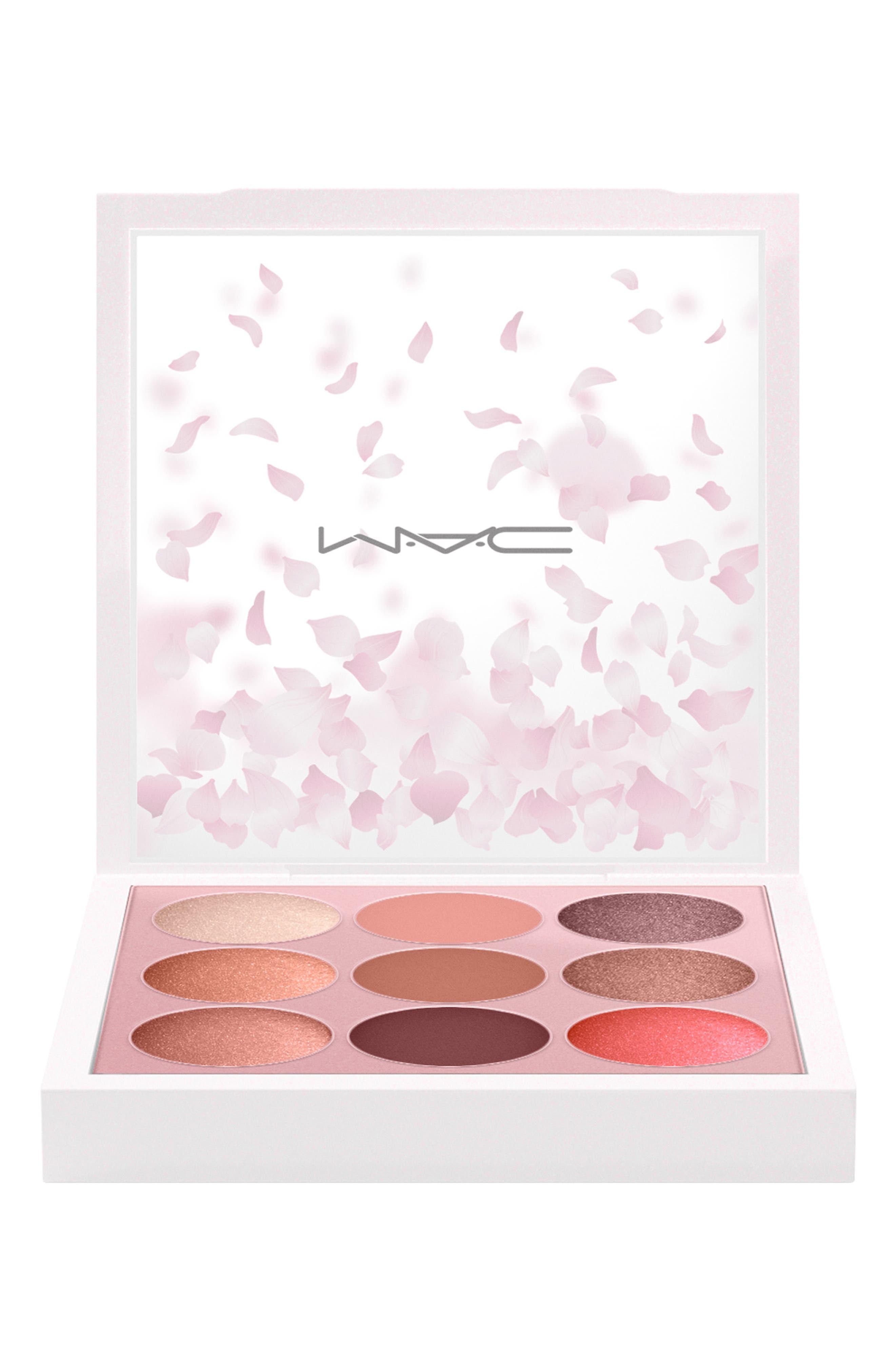 MAC COSMETICS, MAC Boom, Boom, Bloom Kabuki Doll Eyeshadow Palette, Alternate thumbnail 4, color, 000