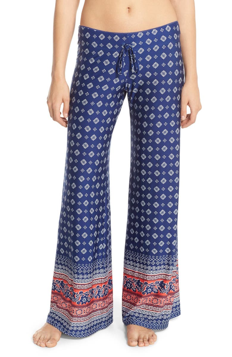 d7ab73880 IN BLOOM BY JONQUIL Border Print Lounge Pants, Main, color, 400