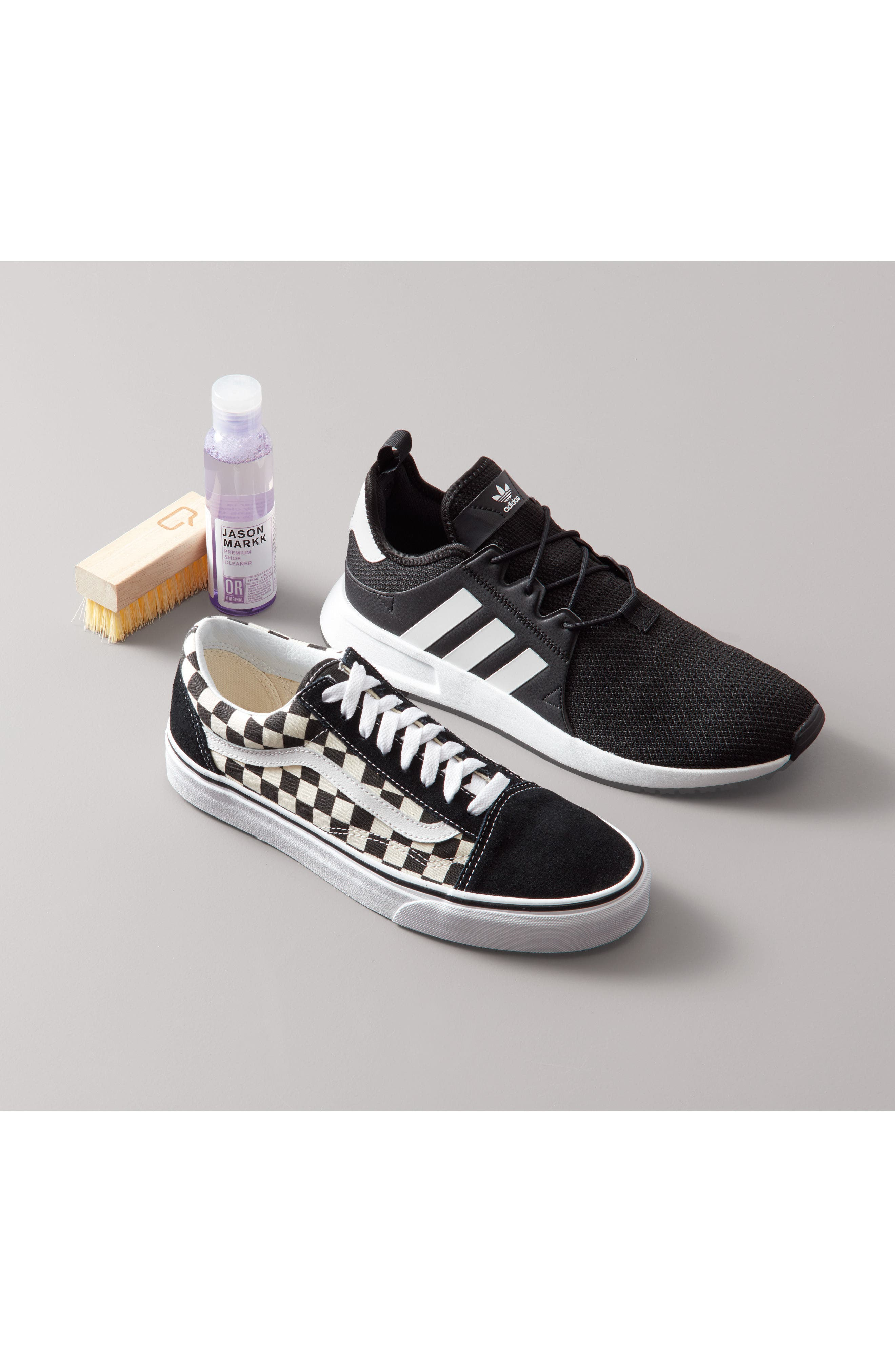 ADIDAS, X_PLR Sneaker, Alternate thumbnail 7, color, WHITE/ CORE BLACK/ GUM