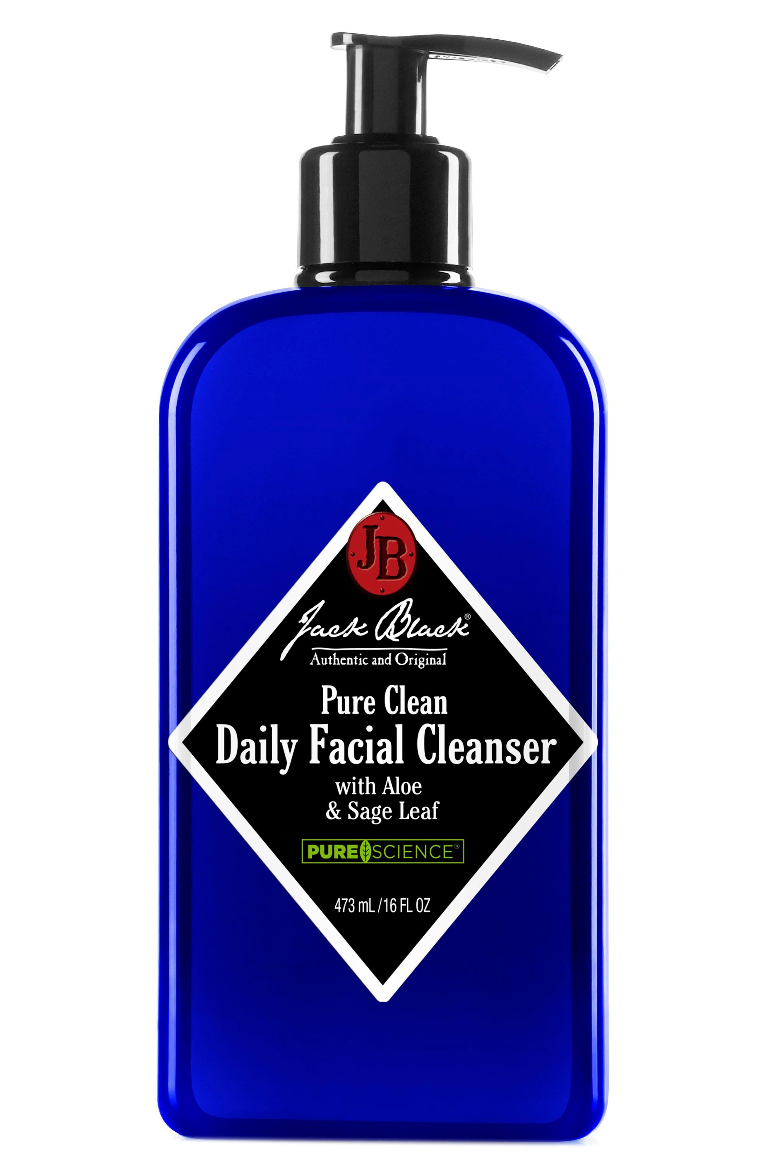 JACK BLACK, Pure Clean Daily Facial Cleanser, Alternate thumbnail 5, color, NO COLOR