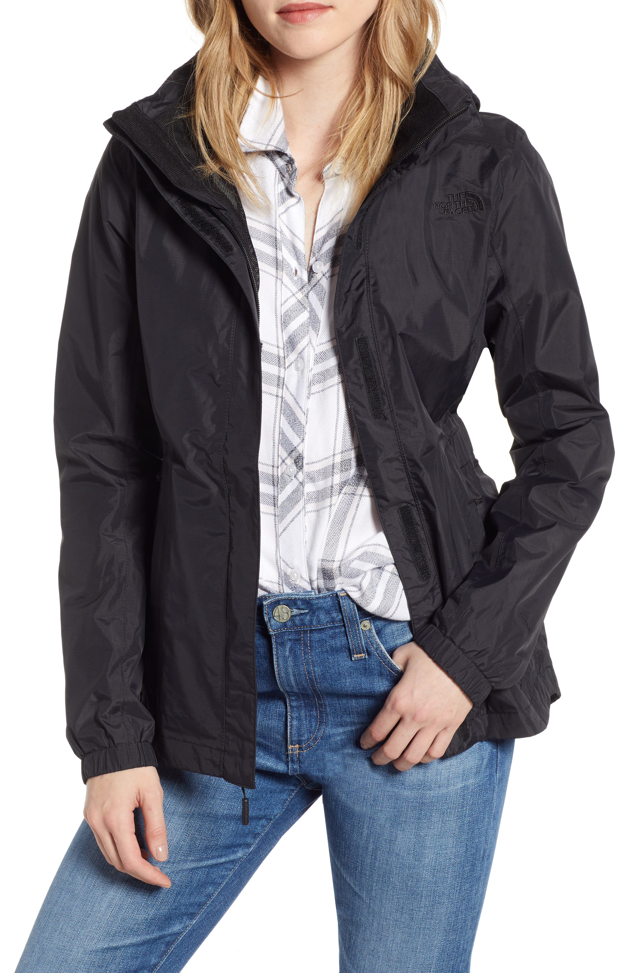 THE NORTH FACE Resolve II Waterproof/Windproof Parka, Main, color, TNF BLACK