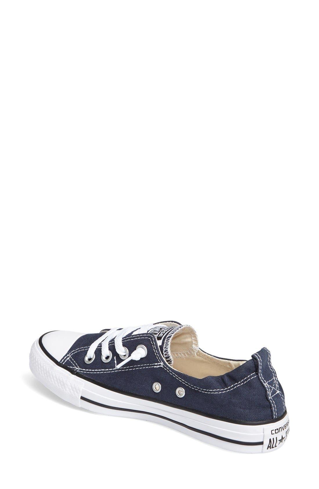 CONVERSE, Chuck Taylor<sup>®</sup> 'Shoreline' Sneaker, Alternate thumbnail 8, color, NAVY