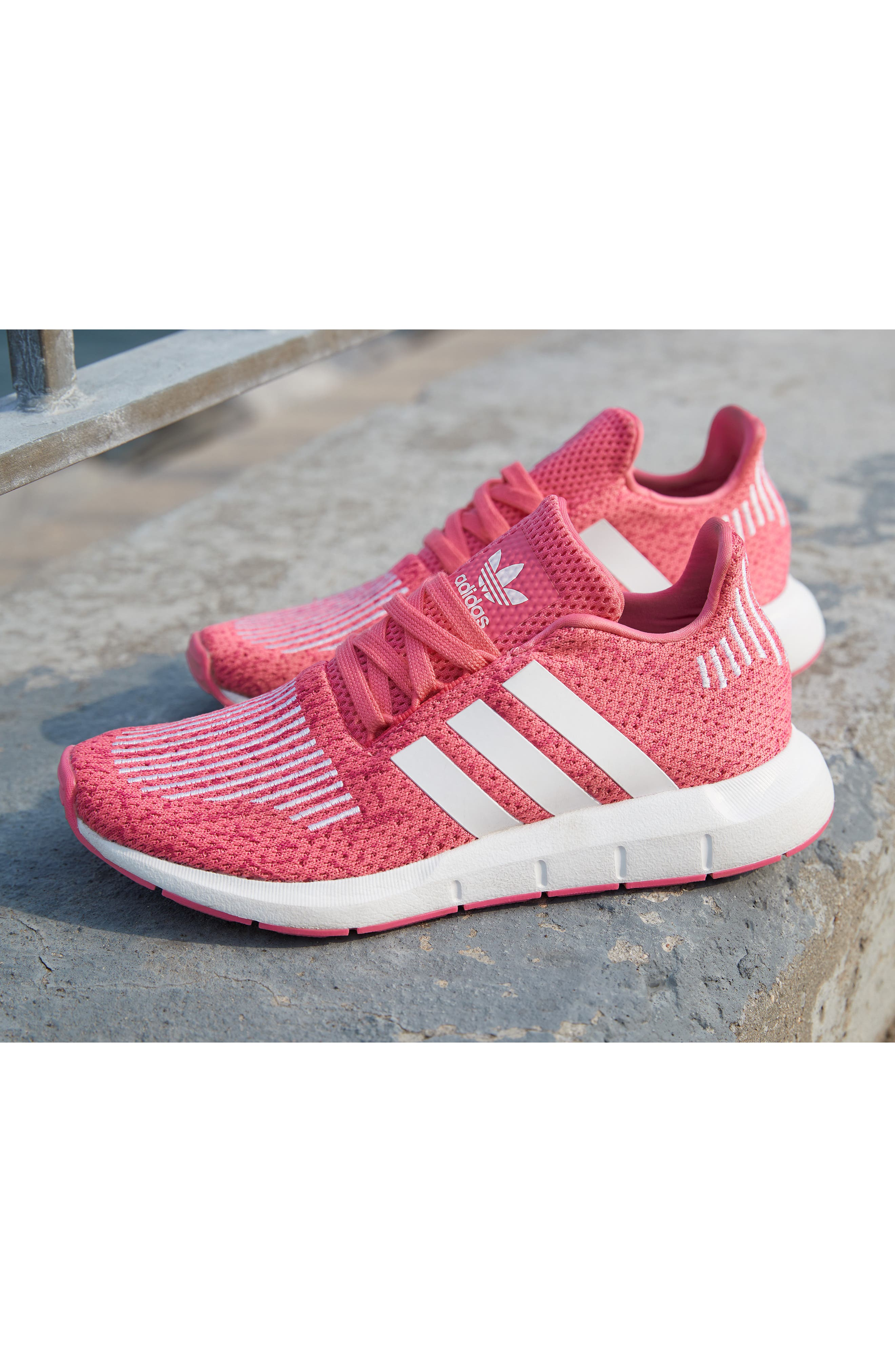 ADIDAS, Swift Run J Sneaker, Alternate thumbnail 7, color, 027