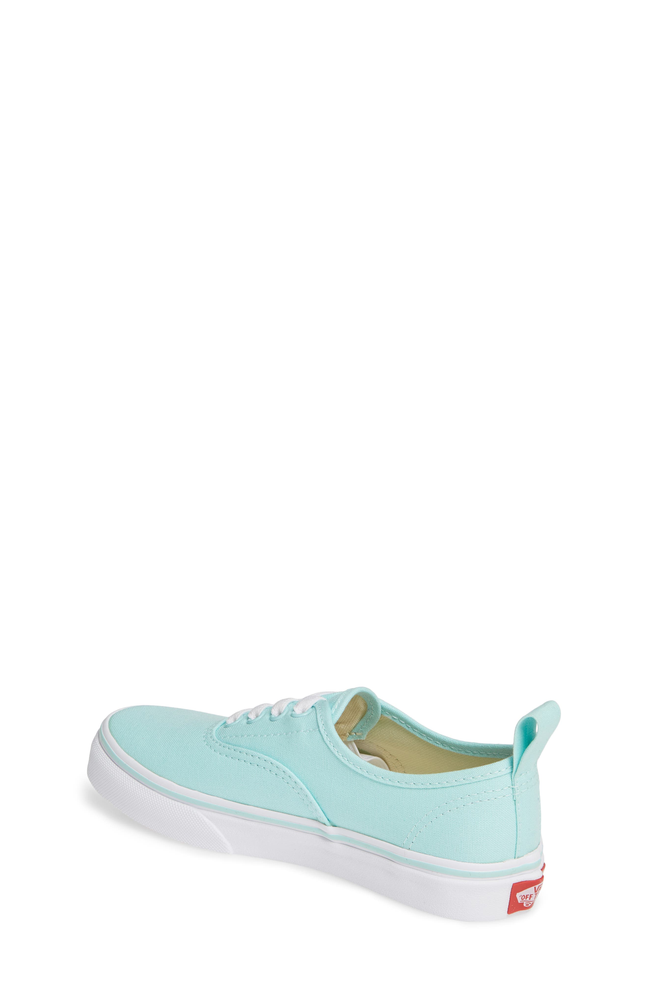VANS, Authentic Sneaker, Alternate thumbnail 2, color, BLUE TINT/ TRUE WHITE