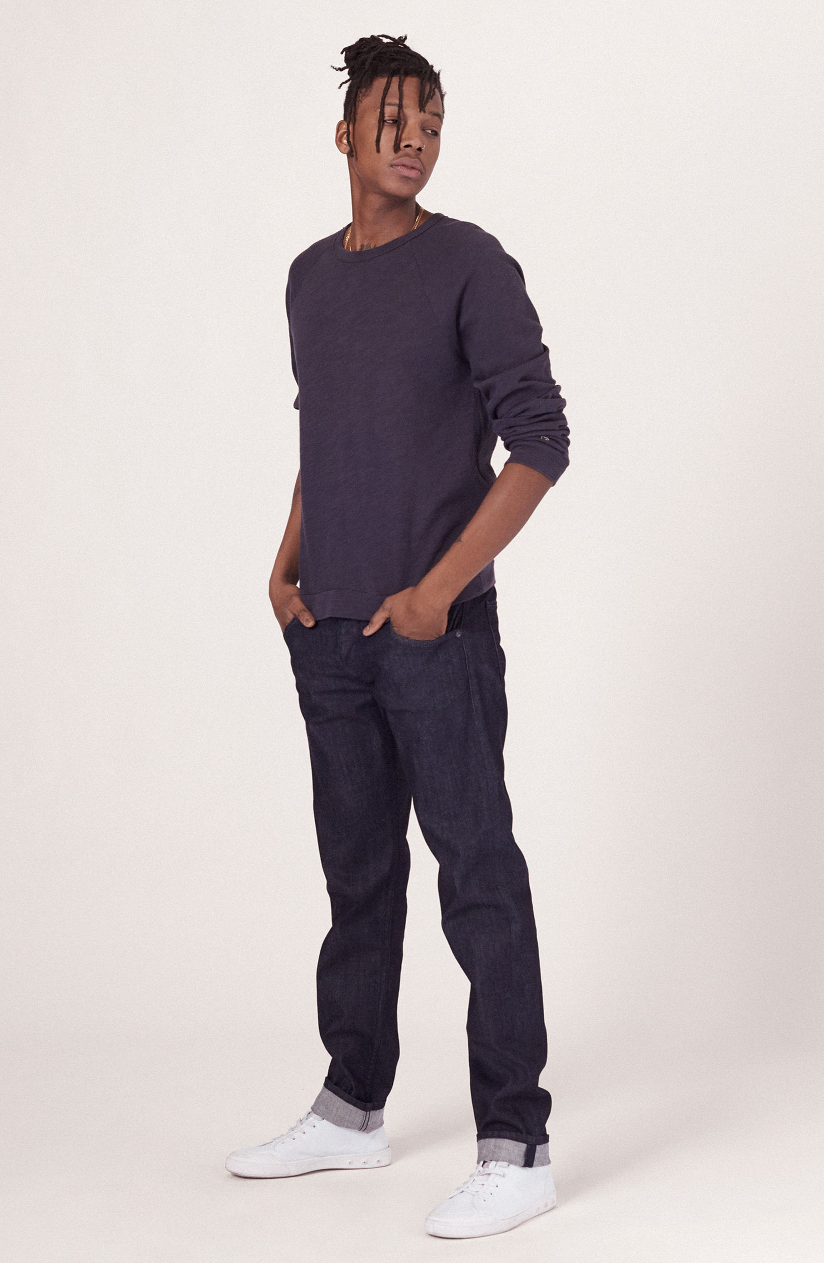 RAG & BONE, Standard Issue Fit 2 Slim Fit Jeans, Alternate thumbnail 9, color, TONAL RINSE