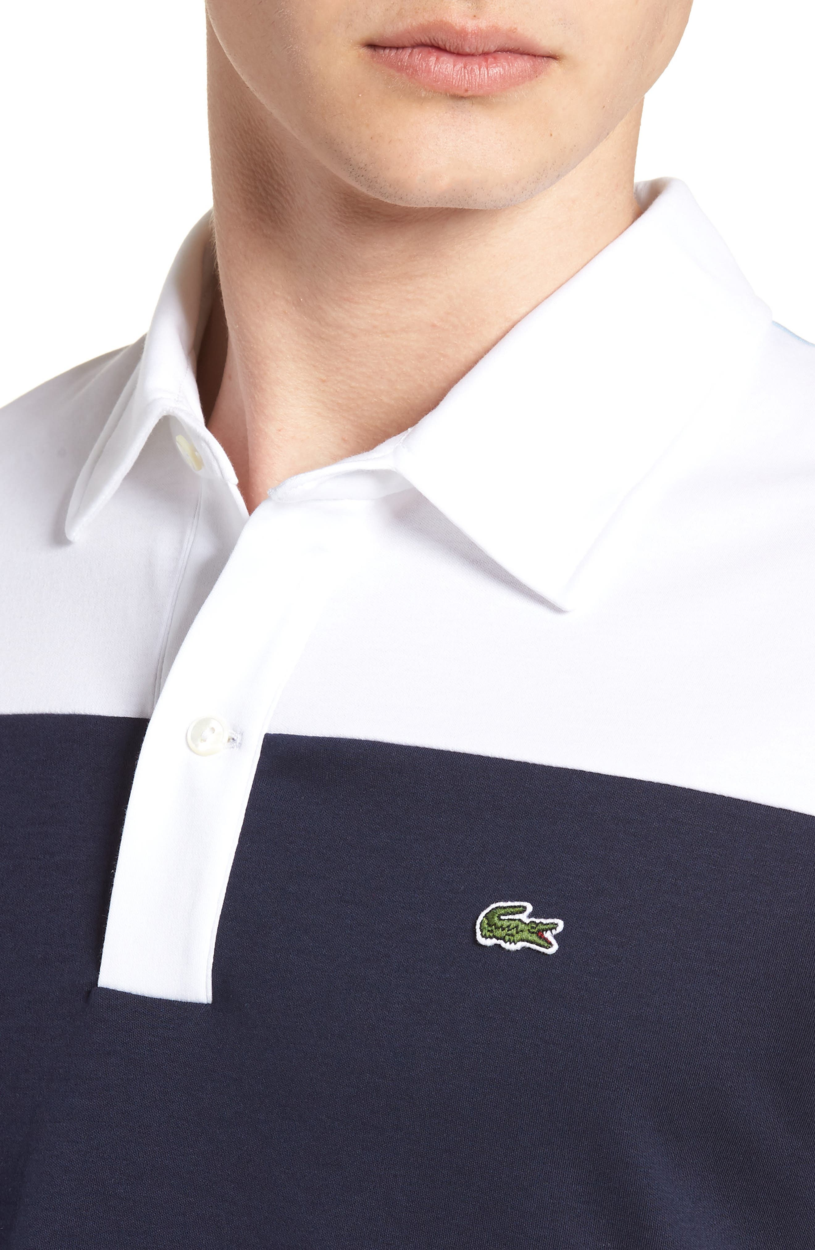 LACOSTE, 85th Anniversary Polo, Alternate thumbnail 4, color, 400