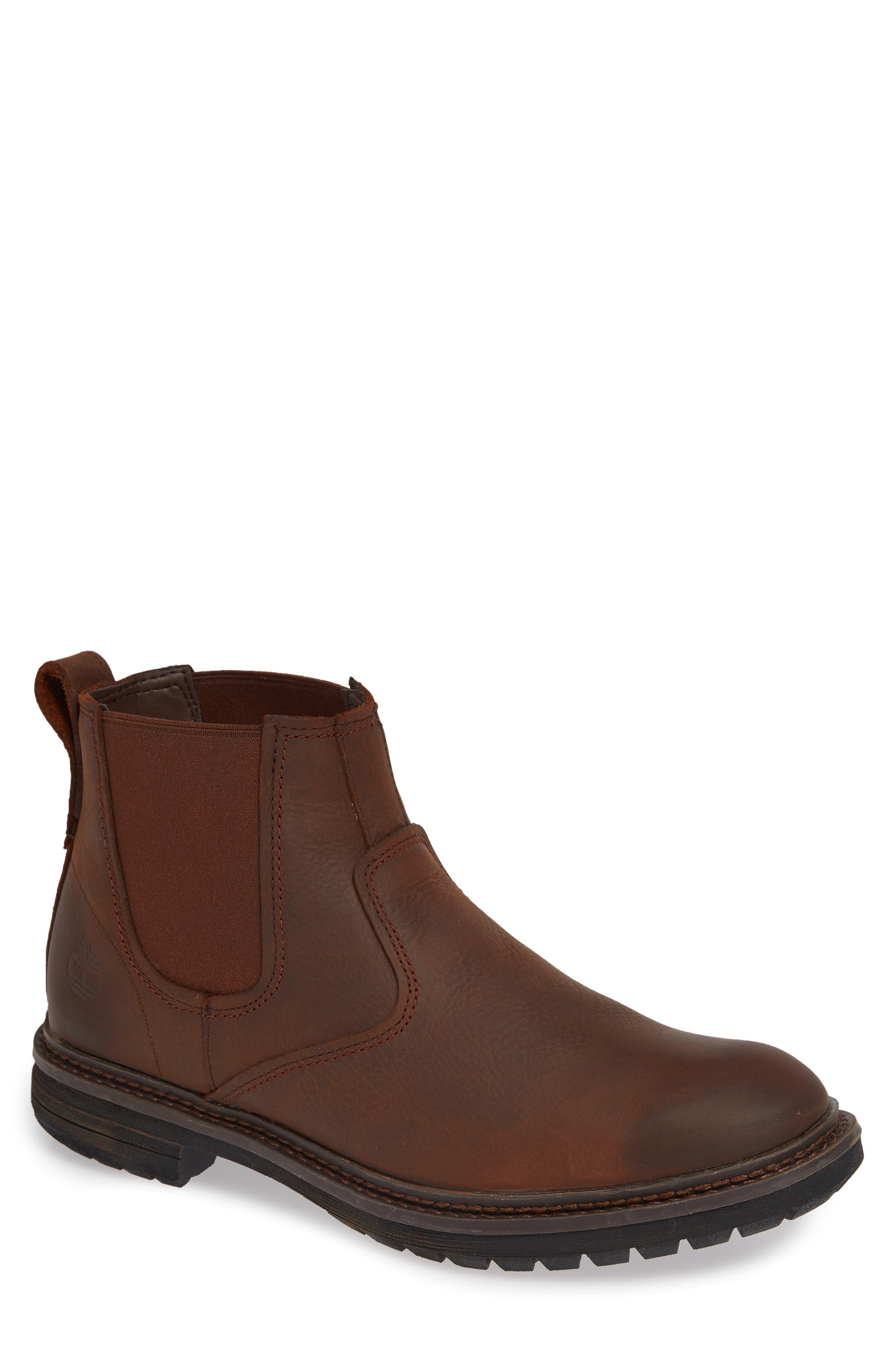 Timberland Logan Bay Water Resistant Chelsea Boot- Brown