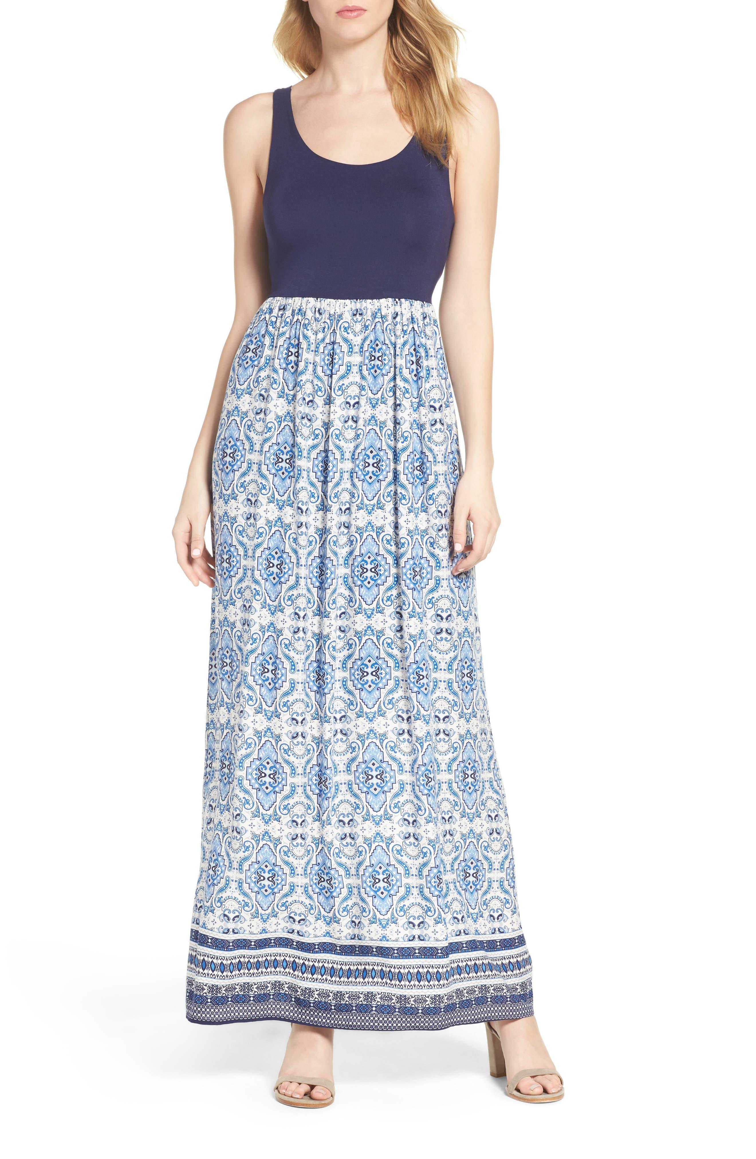 Fraiche By J Cutout Maxi Dress