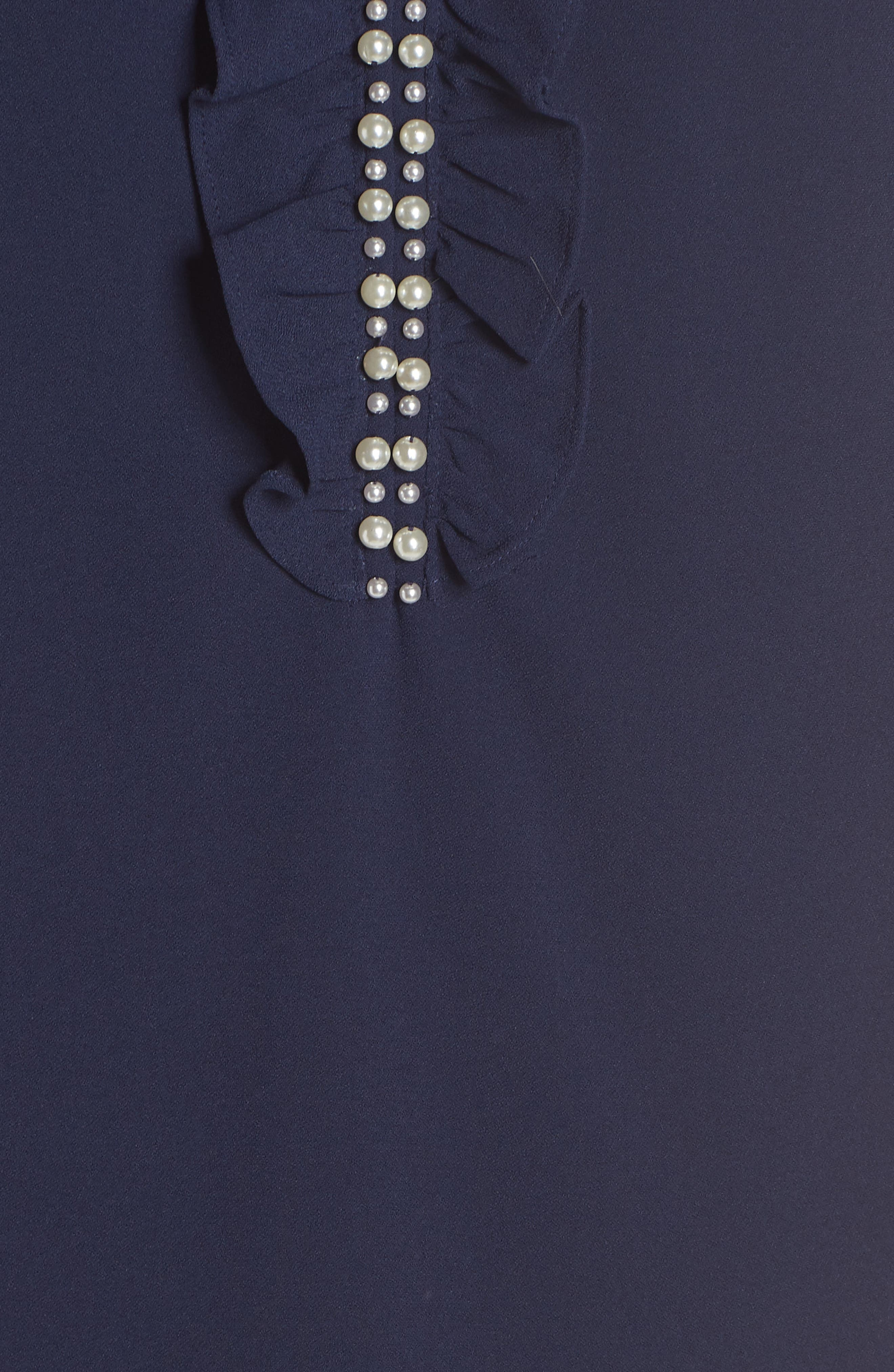 LILLY PULITZER<SUP>®</SUP>, Adalee Shift Dress, Alternate thumbnail 5, color, TRUE NAVY