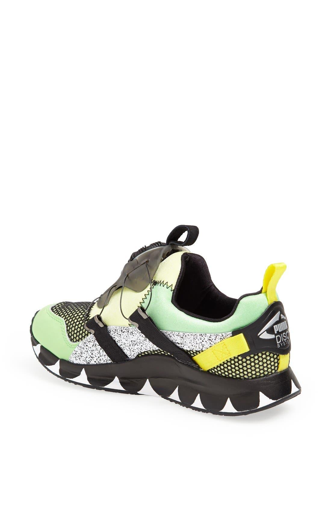 PUMA, 'Disc - Solange' Sneaker, Alternate thumbnail 4, color, 020
