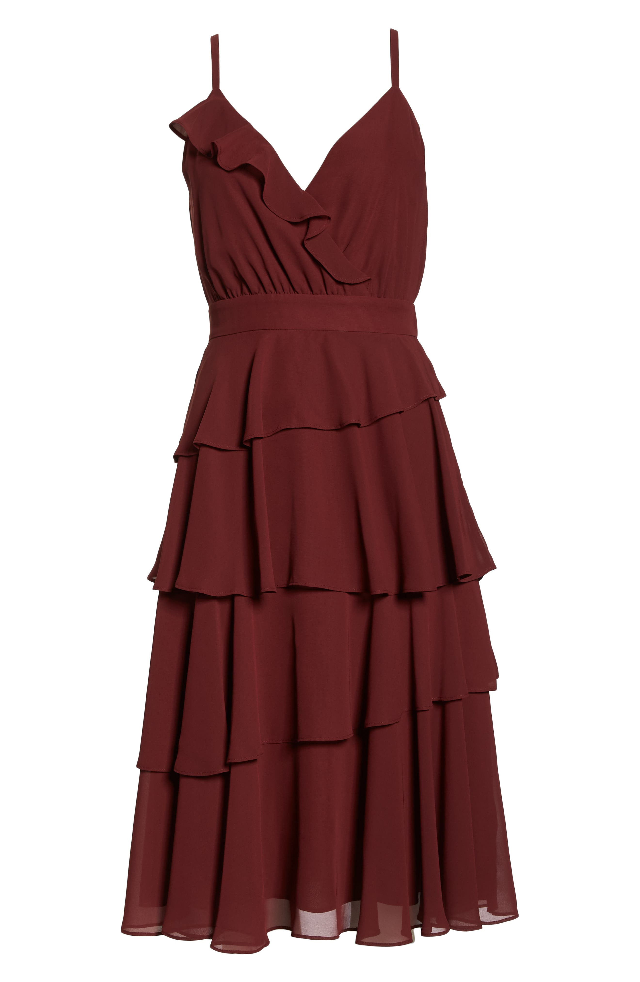 ALI & JAY, Love Is All Around Ruffle Tiered Dress, Alternate thumbnail 7, color, 939