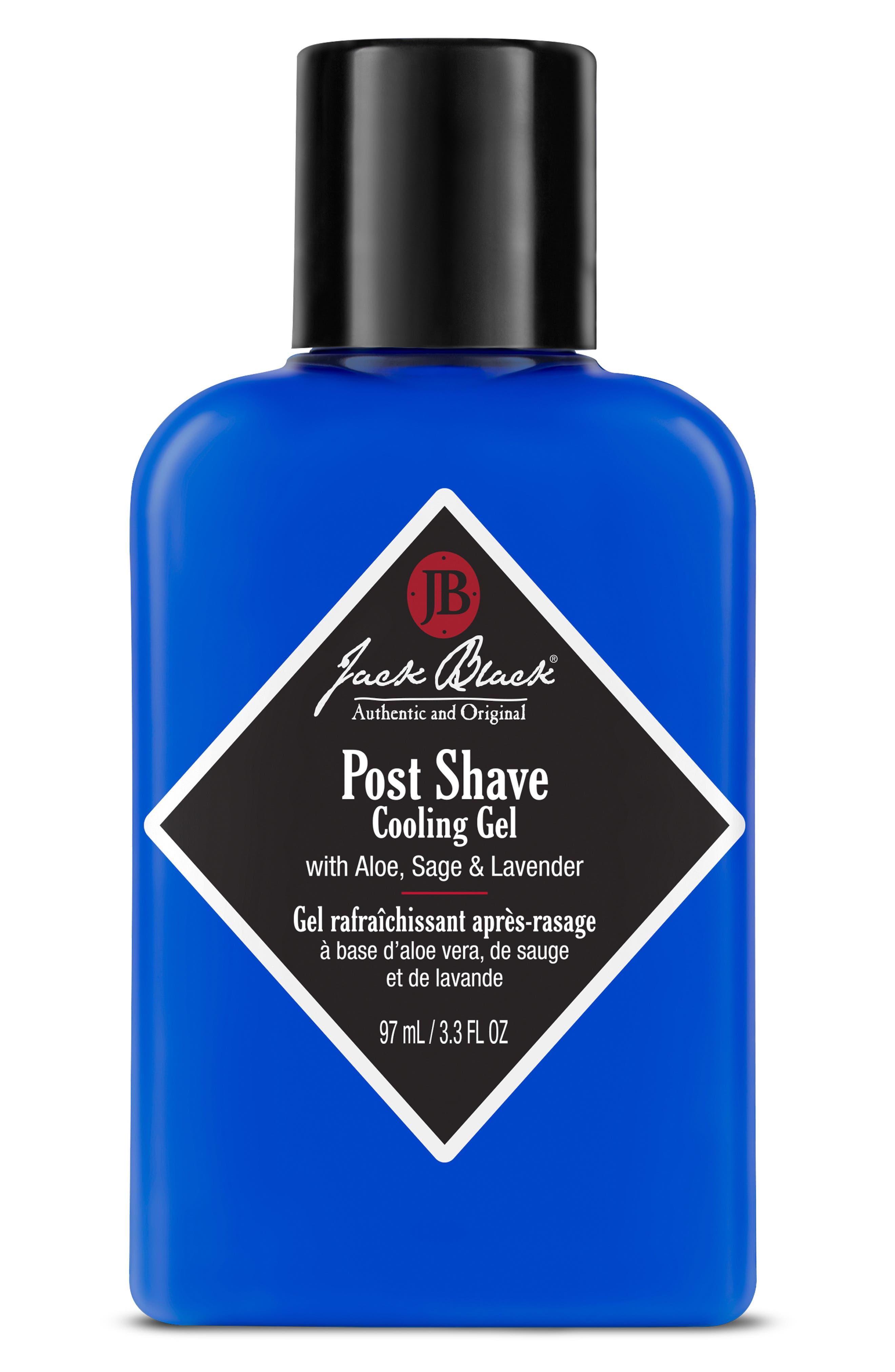 JACK BLACK, Post Shave Cooling Gel, Alternate thumbnail 2, color, NO COLOR