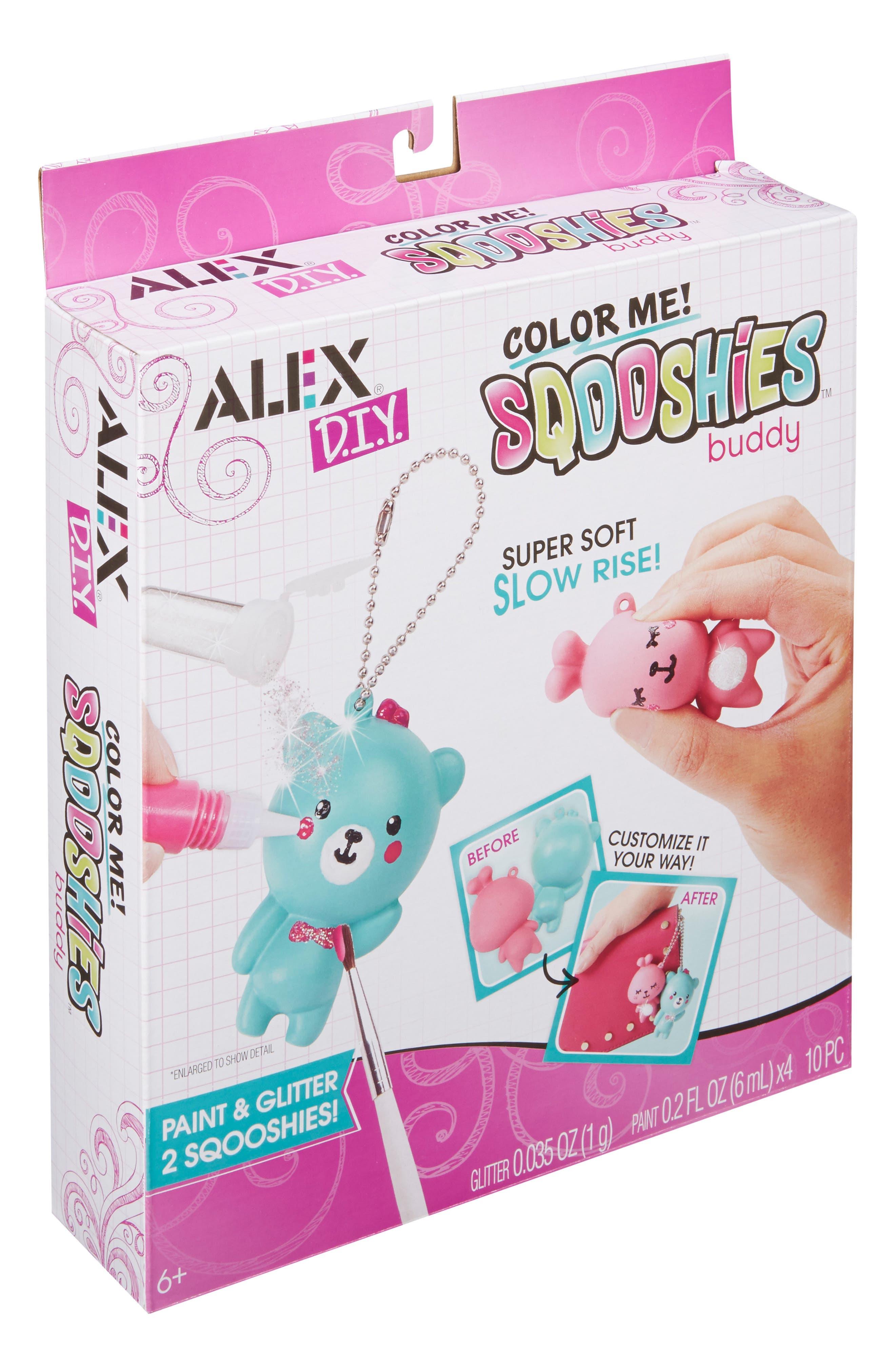 ALEX<SUP>®</SUP> TOYS, DIY Color Me Sqooshies - Buddy, Alternate thumbnail 5, color, 960