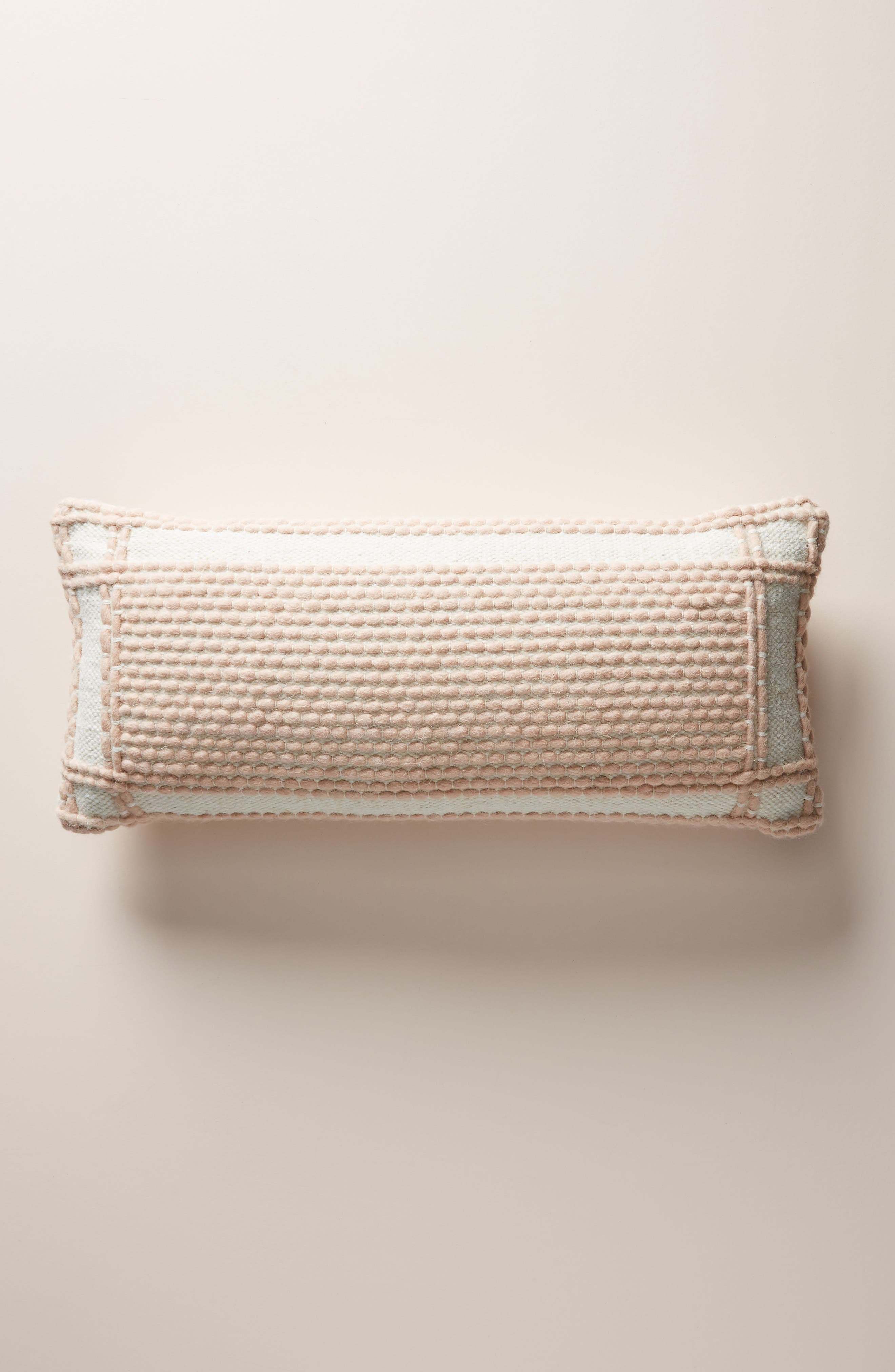 ANTHROPOLOGIE Evie Bauble Accent Pillow, Main, color, BLUSH