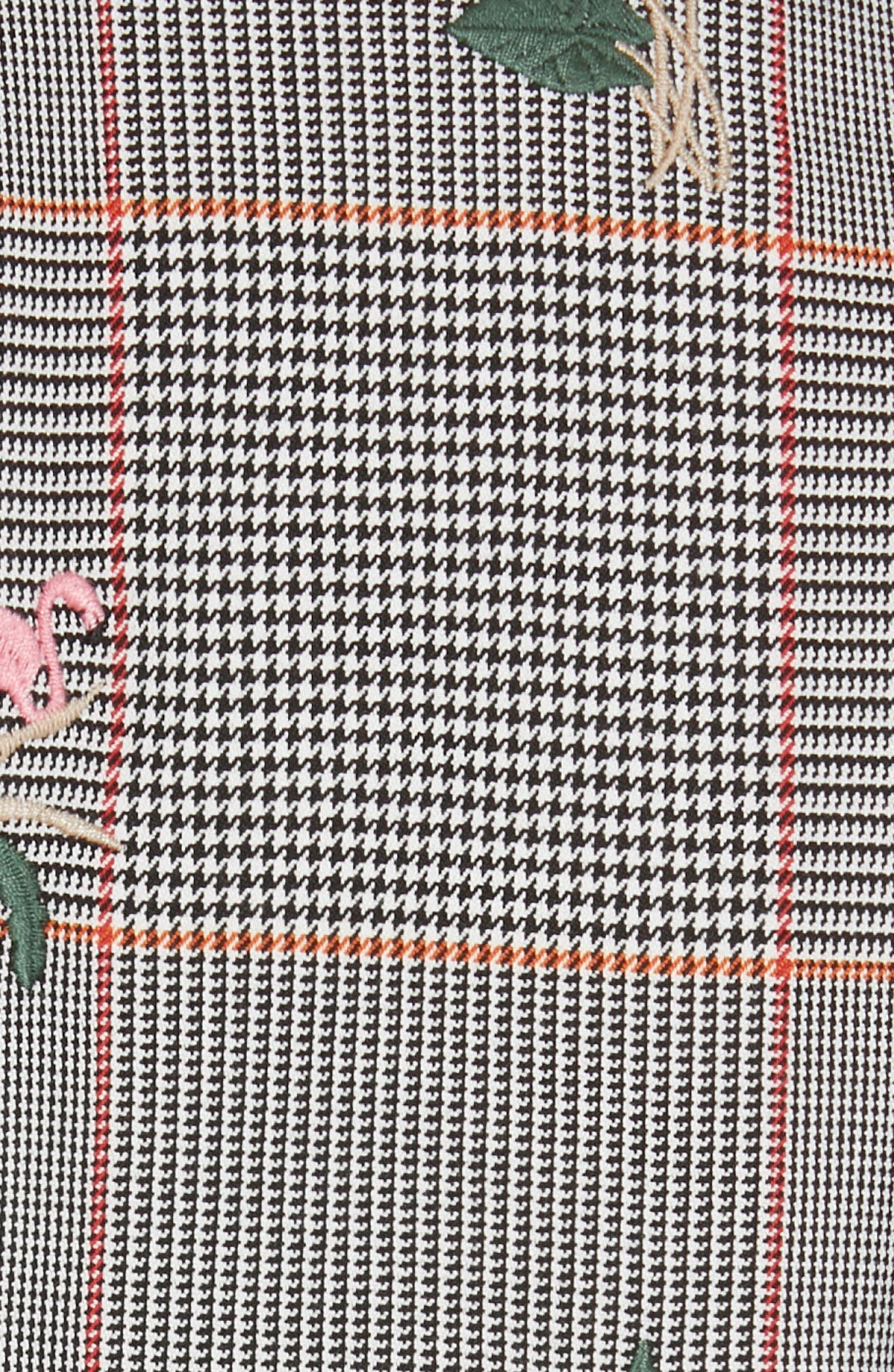 TED BAKER LONDON, Plaid Jacket, Alternate thumbnail 7, color, LIGHT GREY