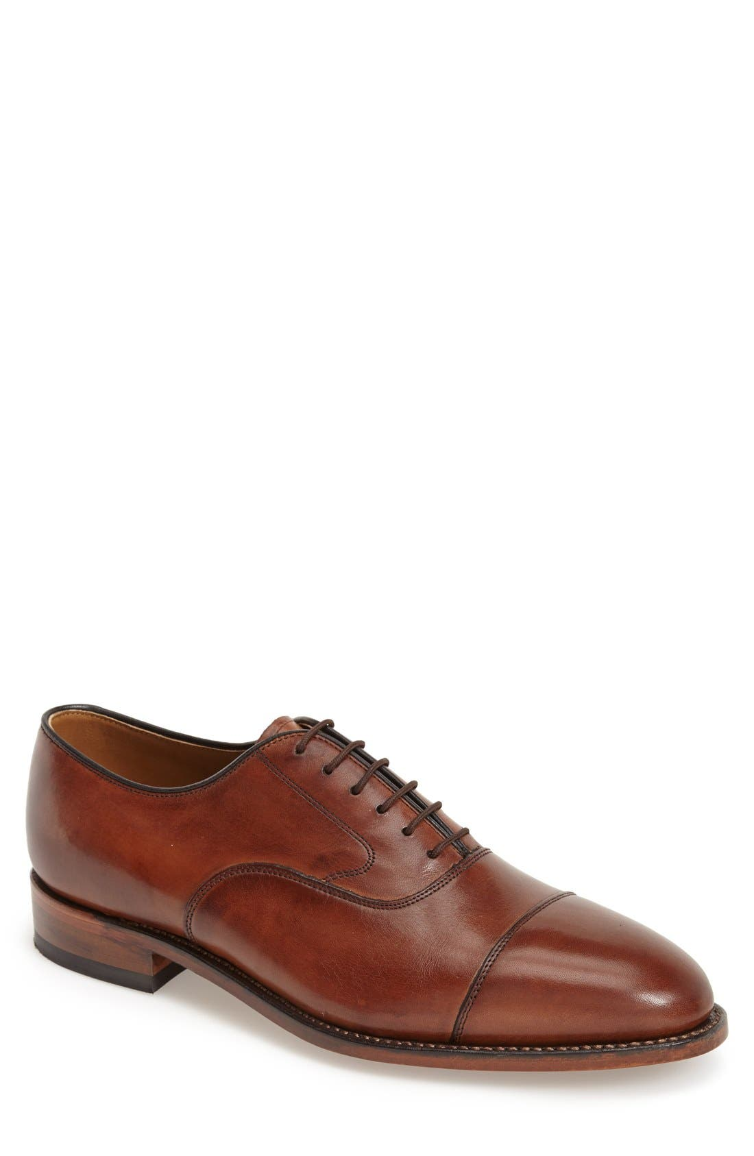 JOHNSTON & MURPHY, 'Melton' Oxford, Main thumbnail 1, color, TAN