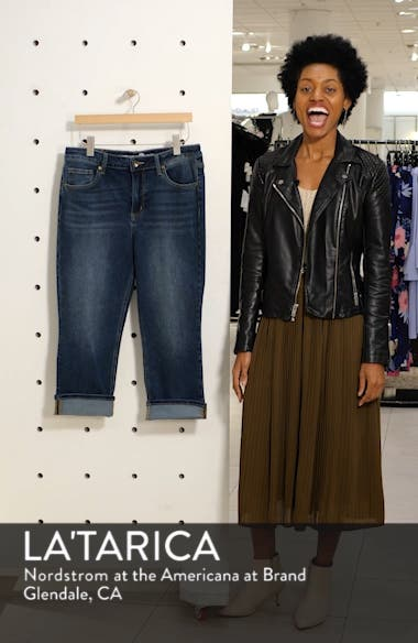 High Waist Crop Skinny Jeans, sales video thumbnail