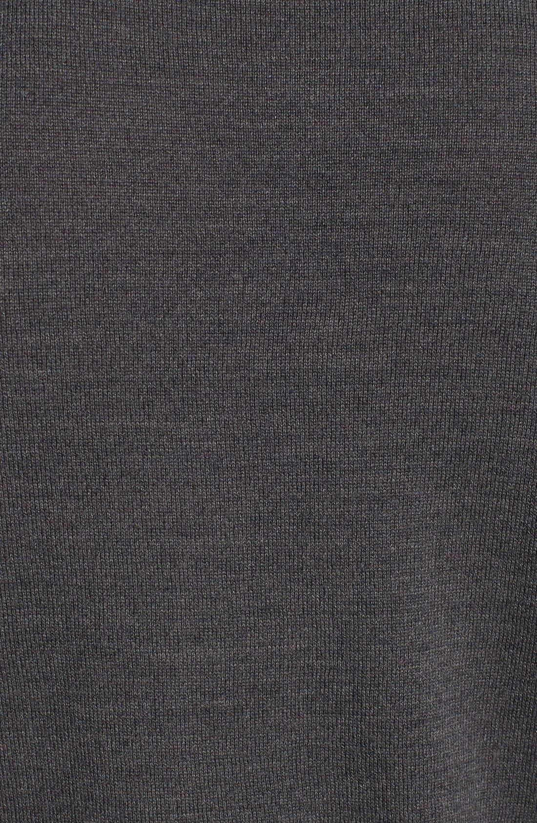 VINCE CAMUTO, Merino Wool Turtleneck, Alternate thumbnail 9, color, CHARCOAL