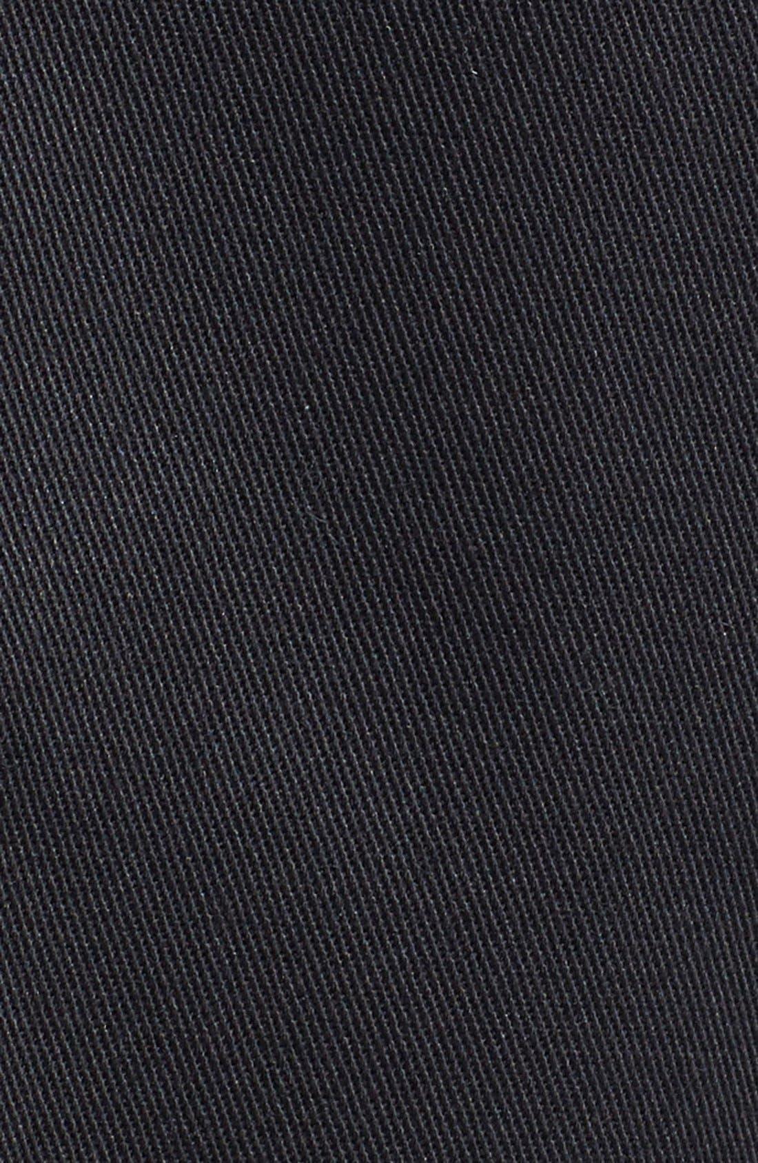 NORDSTROM MEN'S SHOP, Smartcare<sup>™</sup> Pleated Shorts, Alternate thumbnail 3, color, BLACK