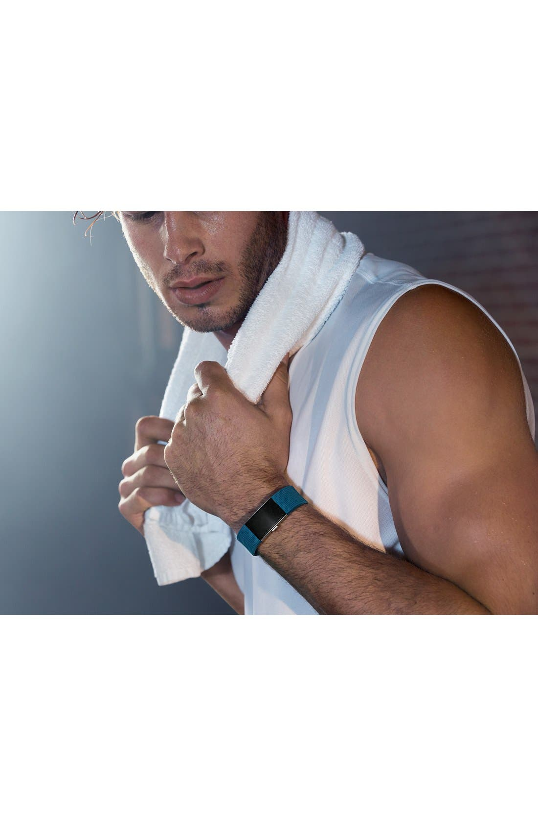 FITBIT, 'Charge 2' Wireless Activity & Heart Rate Tracker, Alternate thumbnail 4, color, 440