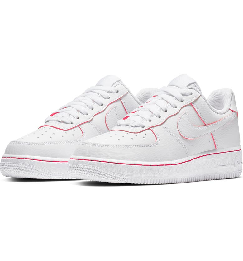 best sneakers dd5a4 294f9 NIKE Air Force 1 LO Sneaker, Main, color, WHITE  WHITE