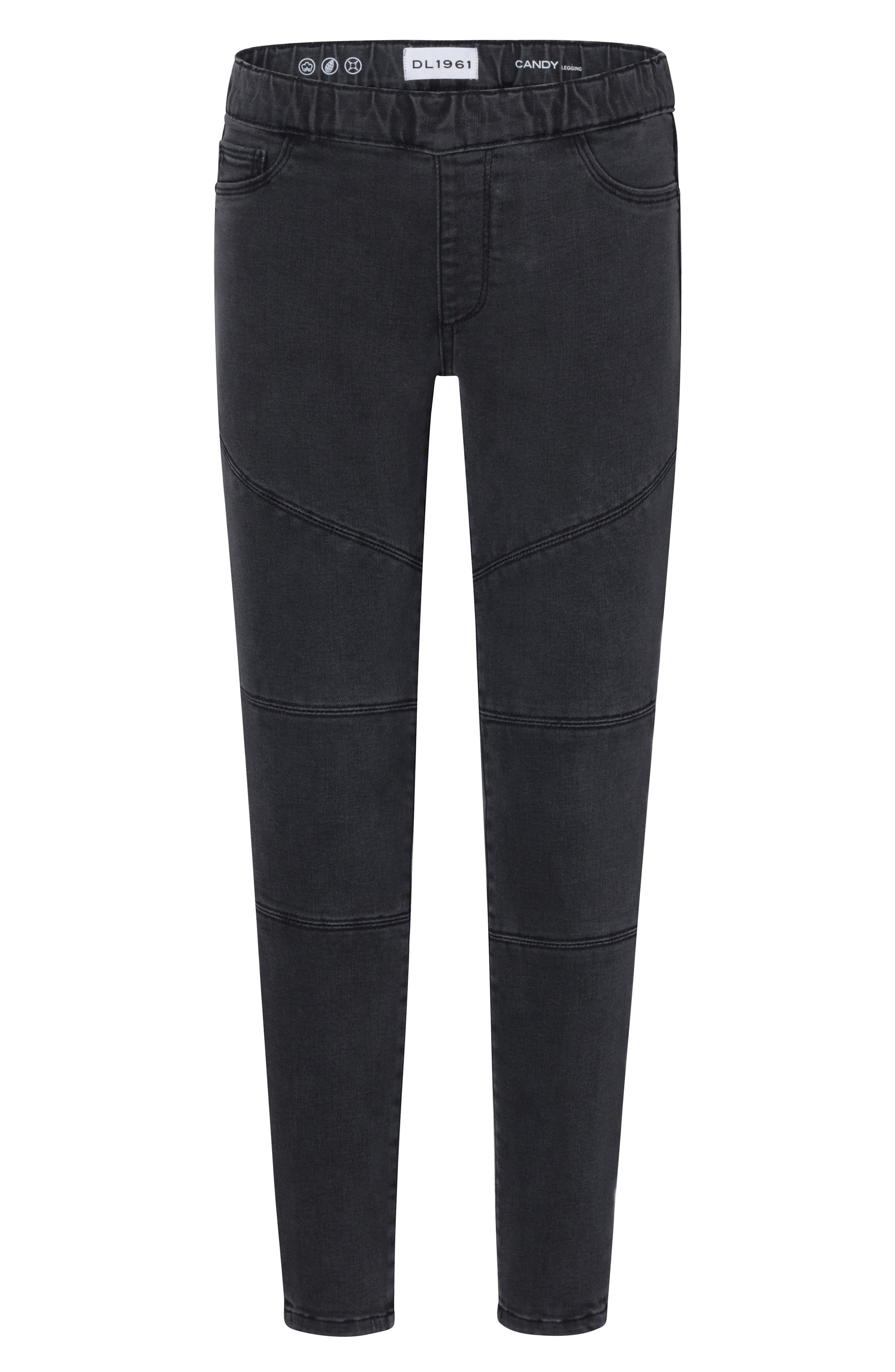 Toddler Girls Dl1961 PullOn Moto Leggings Size 3T  Black